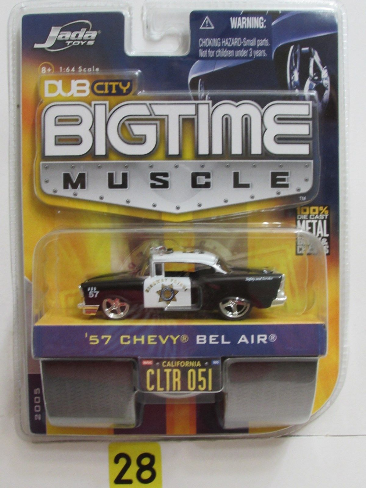 JADA DUB CITY BIGTIME MUSCLE '57 CHEVY BEL AIR 051