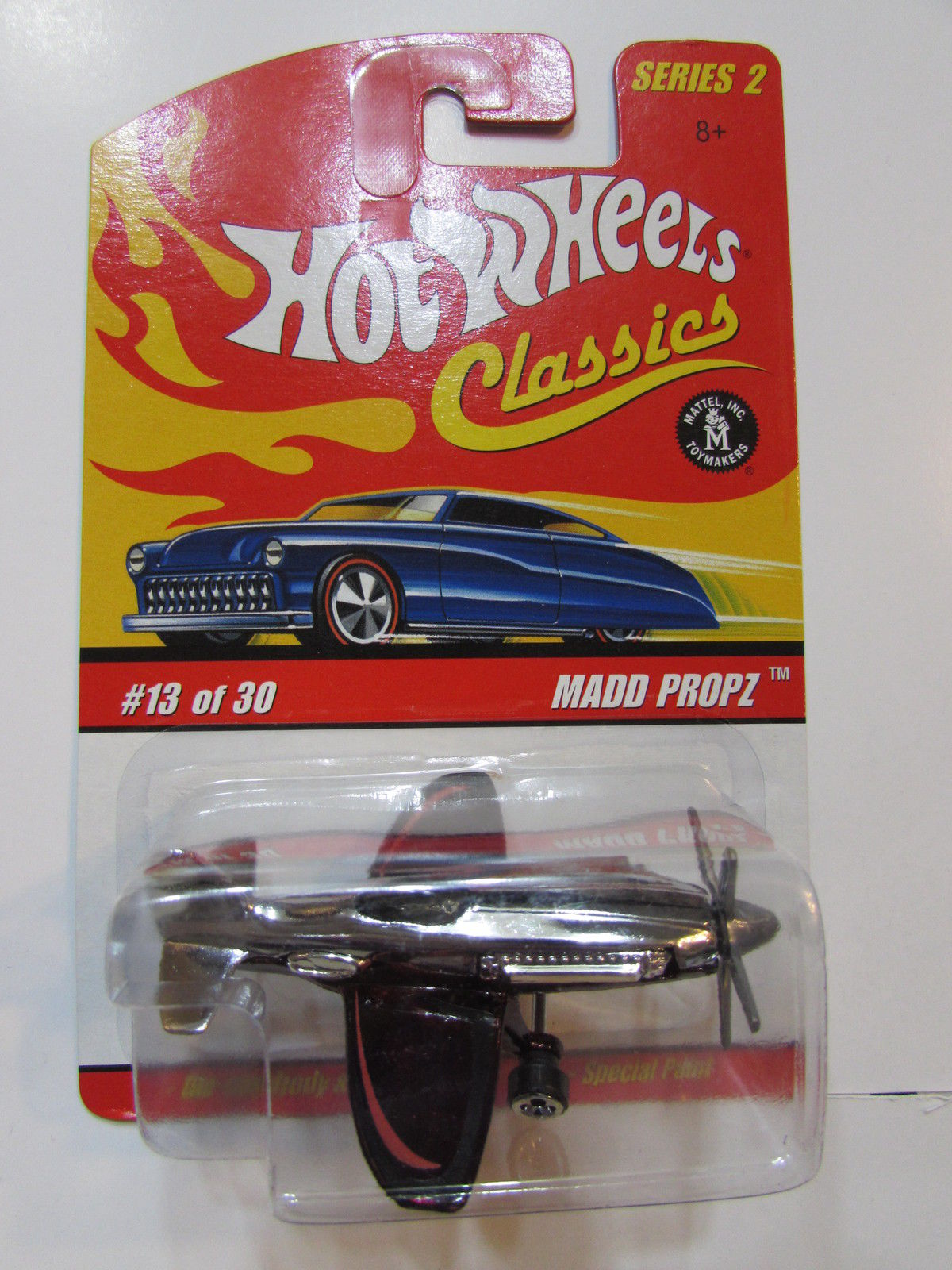 HOT WHEELS CLASSICS SERIES 2 #13/30 MADD PROPZ RED