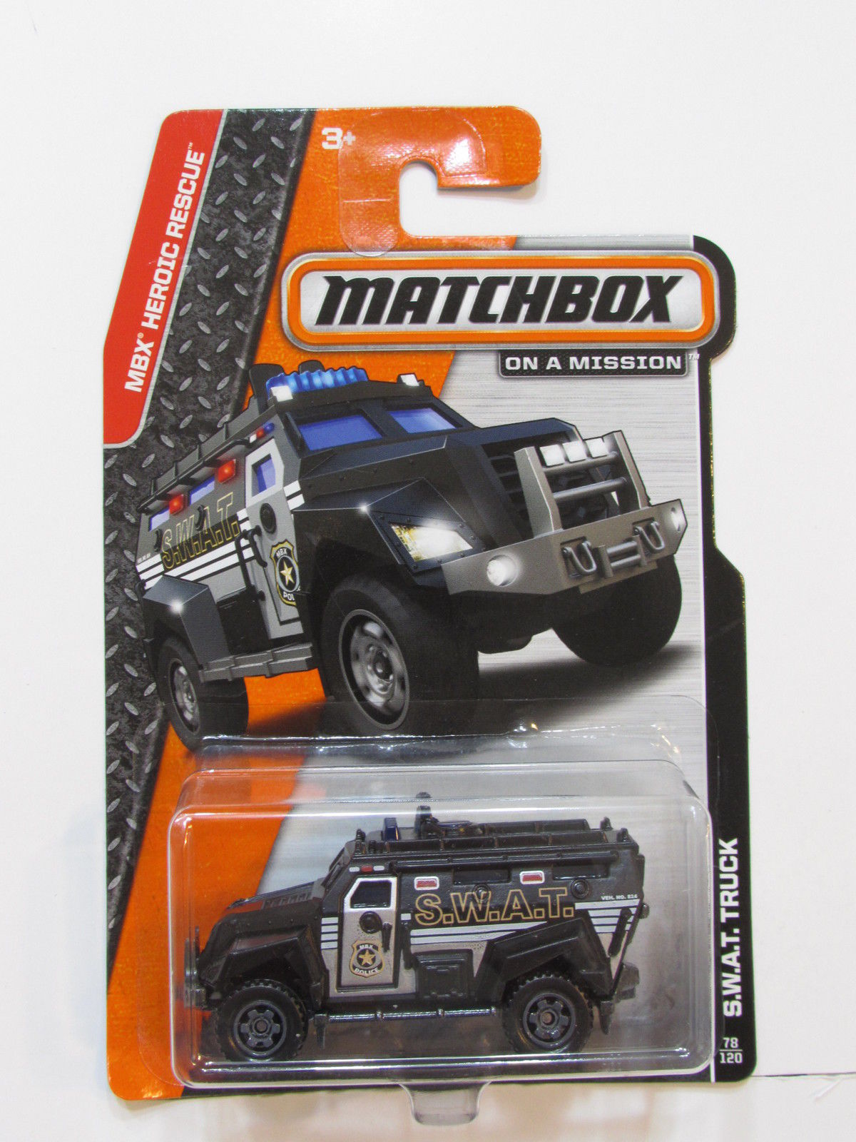 MATCHBOX 2014 ON A MISSION S.W.A.T. TRUCK