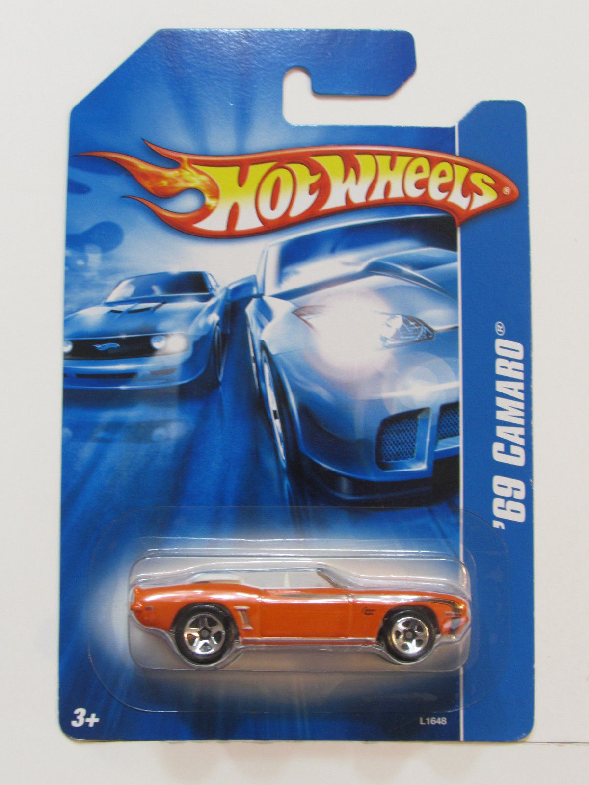 HOT WHEELS 2007 '69 CAMARO ORANGE