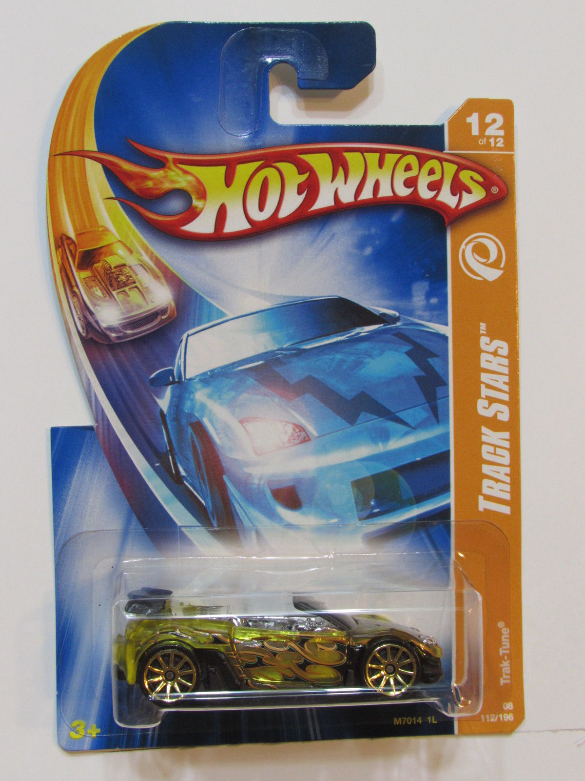 HOT WHEELS 2008 TRACK STARS TRAK-TUNE