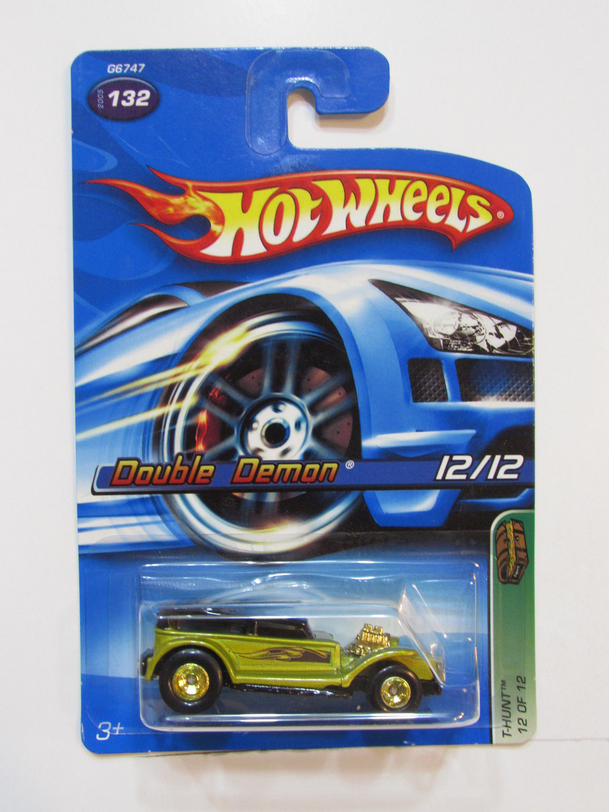 HOT WHEELS 2005 TREASURE HUNT DOUBLE DEMON #132