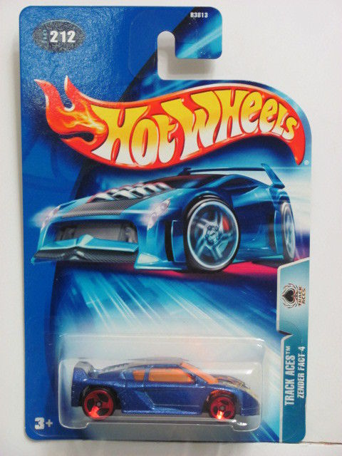 HOT WHEELS 2004 TRACK ACES - ZENDER FACT 4 #212