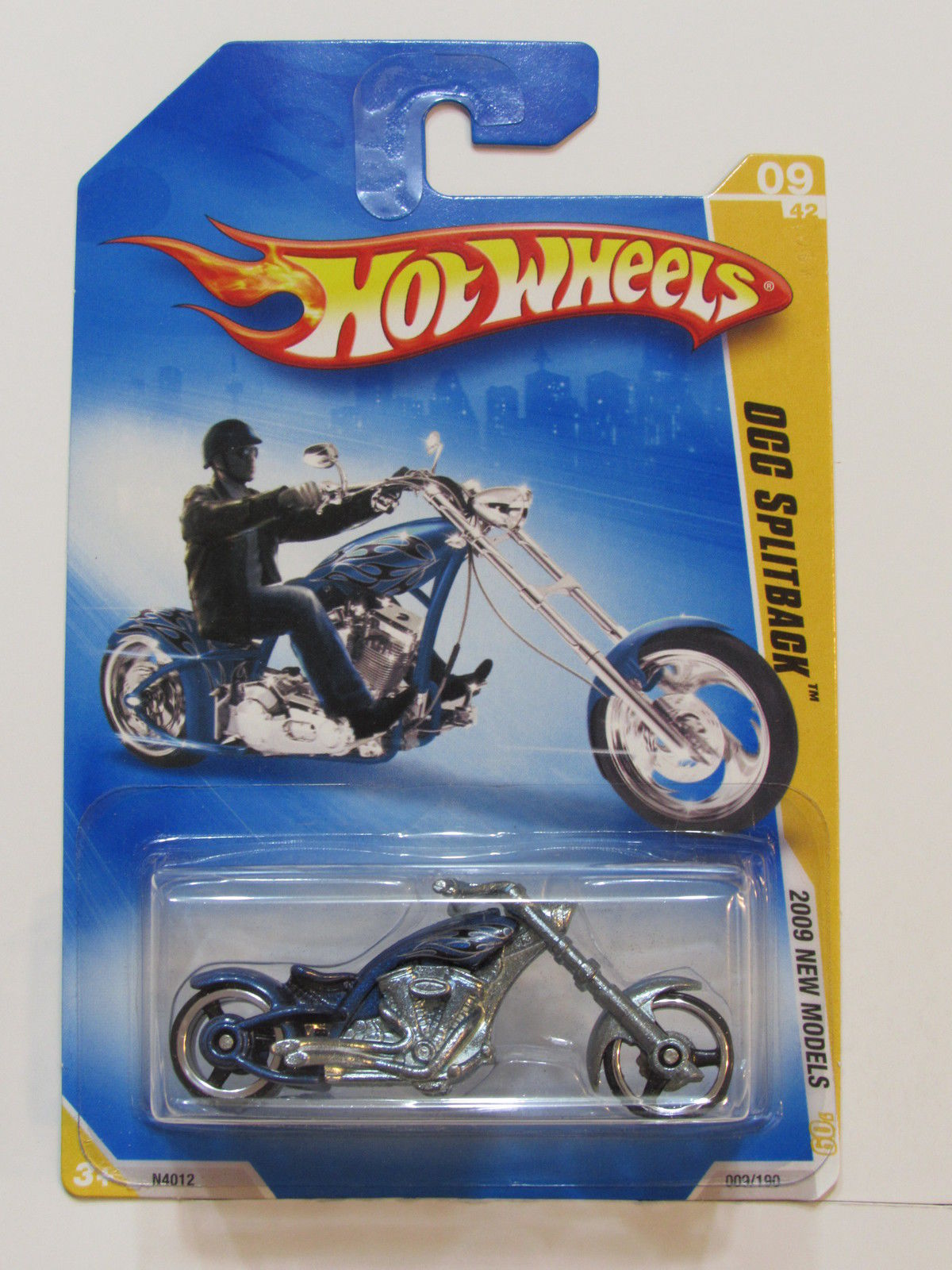 HOT WHEELS 2009 NEW MODELS OCC SPLITBACK BLUE E+