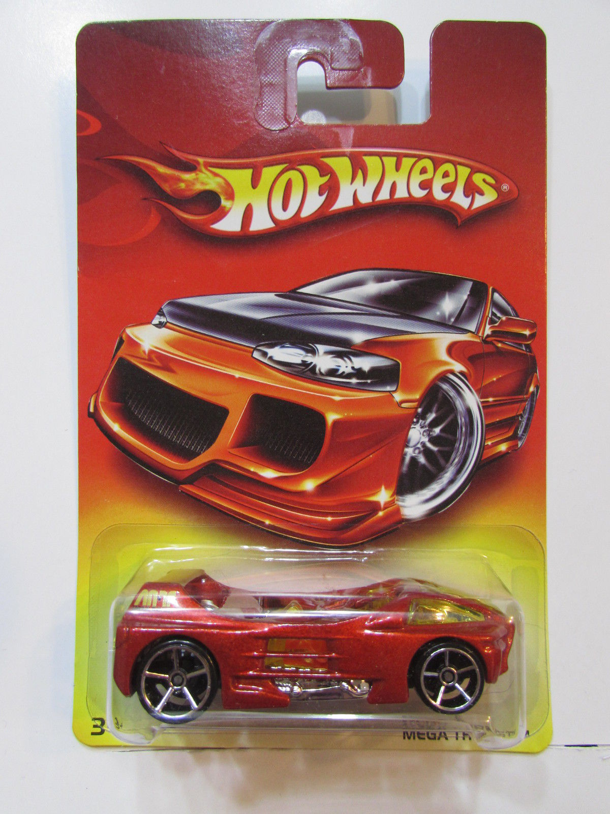 HOT WHEELS WALMART MEGA THRUST