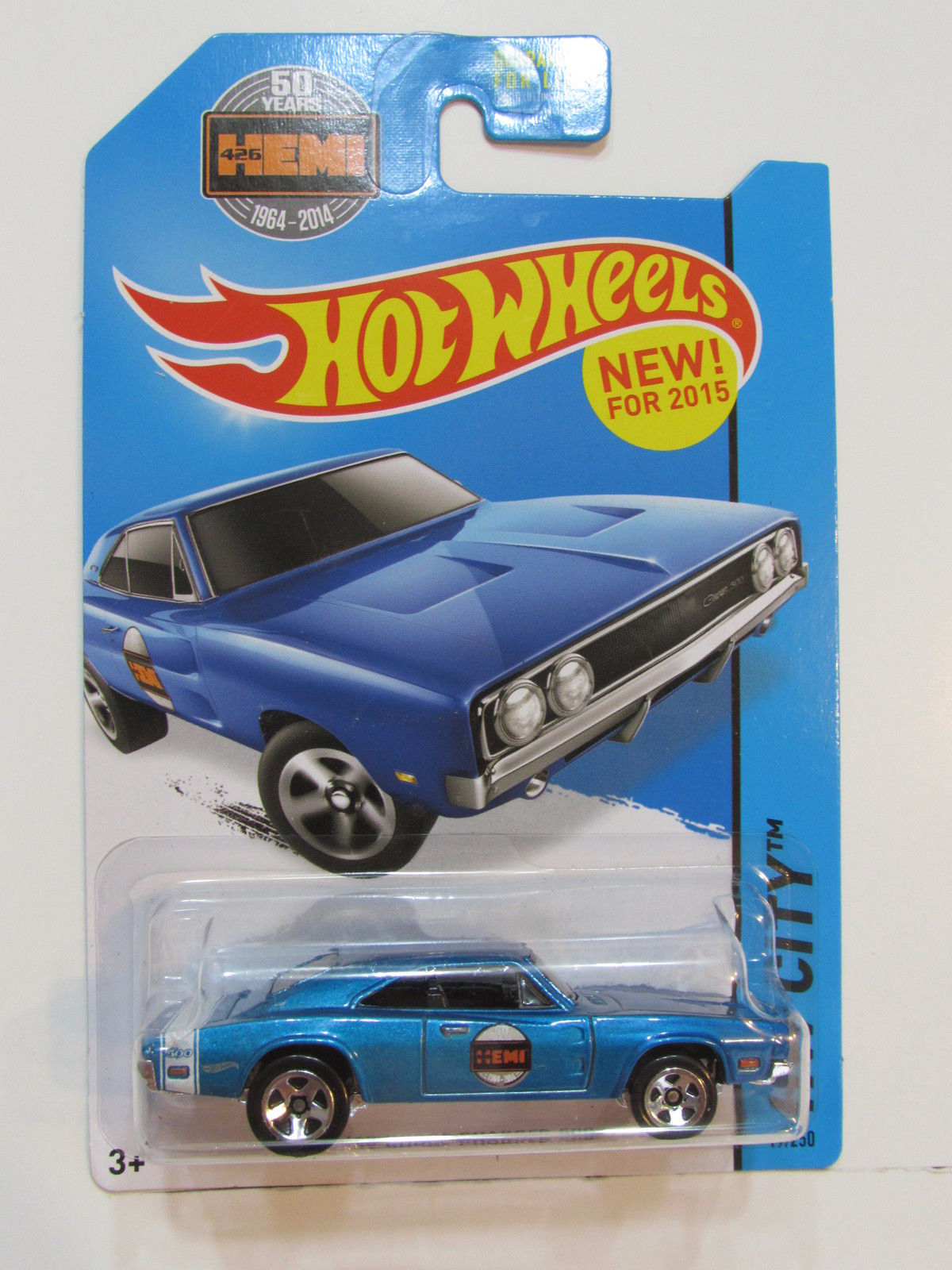 HOT WHEELS 2015 HW CITY - HW PERFORMANCE '69 DODGE CHARGER 500