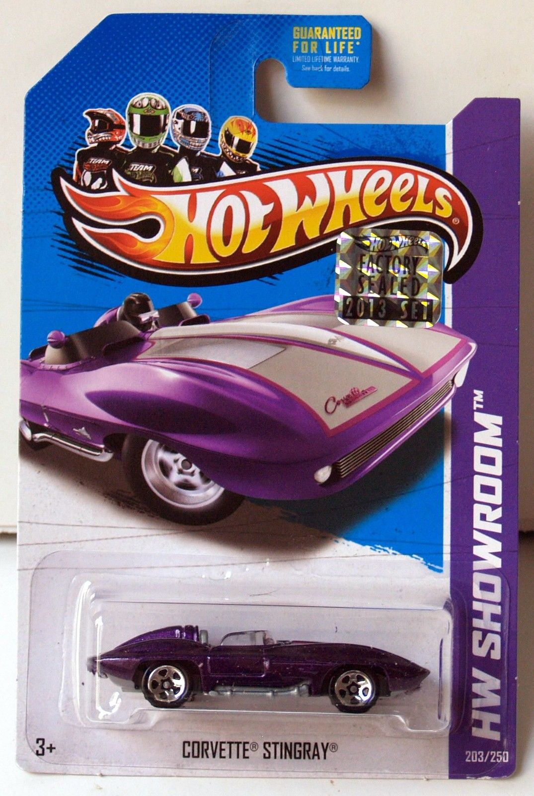 HOT WHEELS 2013 HW SHOWROOM CORVETTE 60TH CORVETTE STINGRAY FACTORY SEALED
