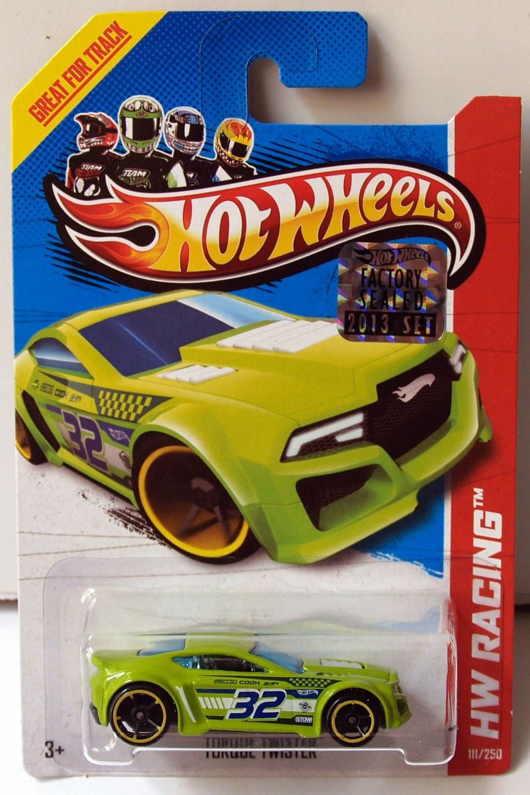 HOT WHEELS 2013 HW RACING THRILL RACERS TORQUE TWISTER FACTORY SEALED