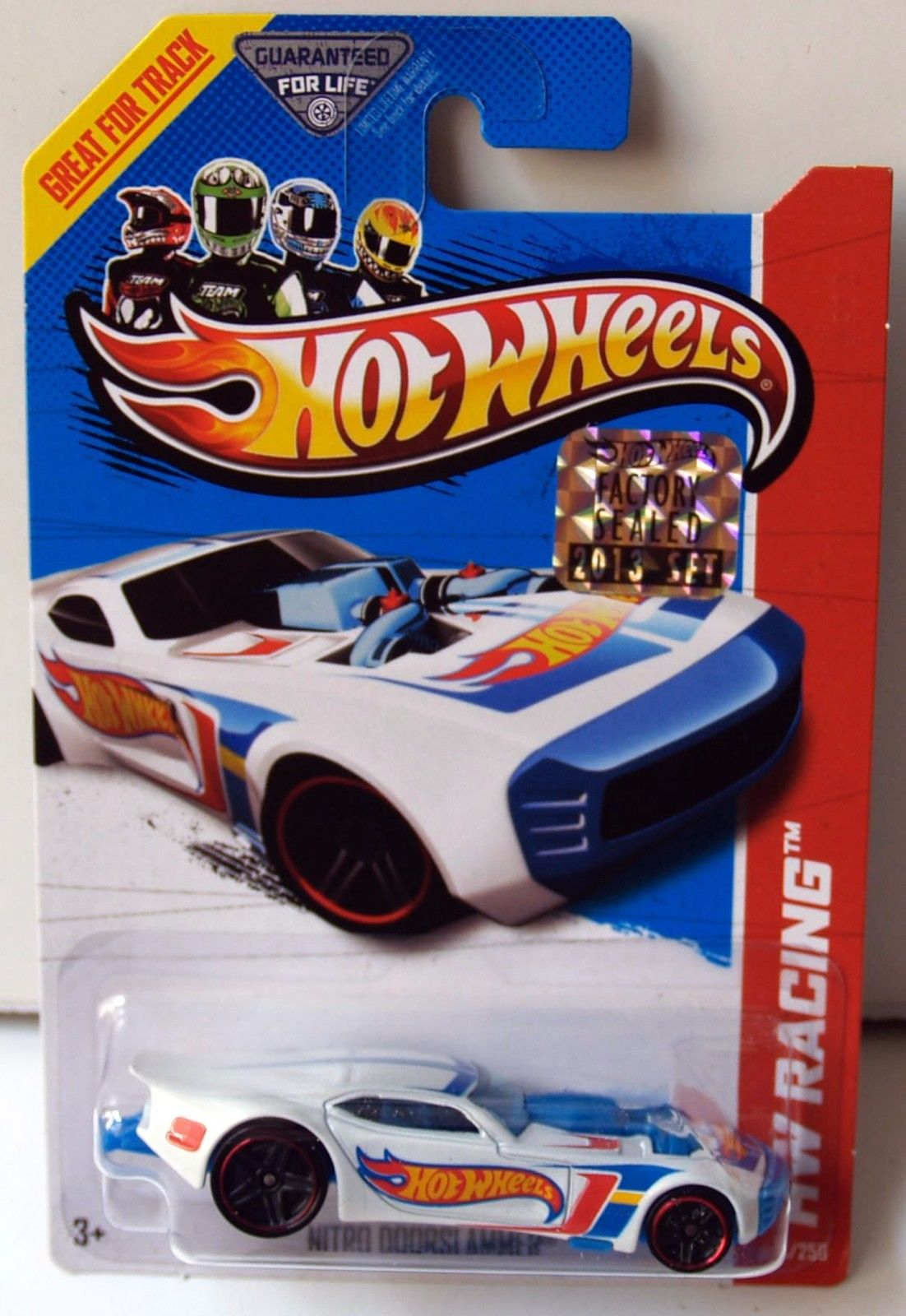 HOT WHEELS 2013 HW RACING - HW RACE TEAM NITRO DOORSLAMMER FACTORY SEALED