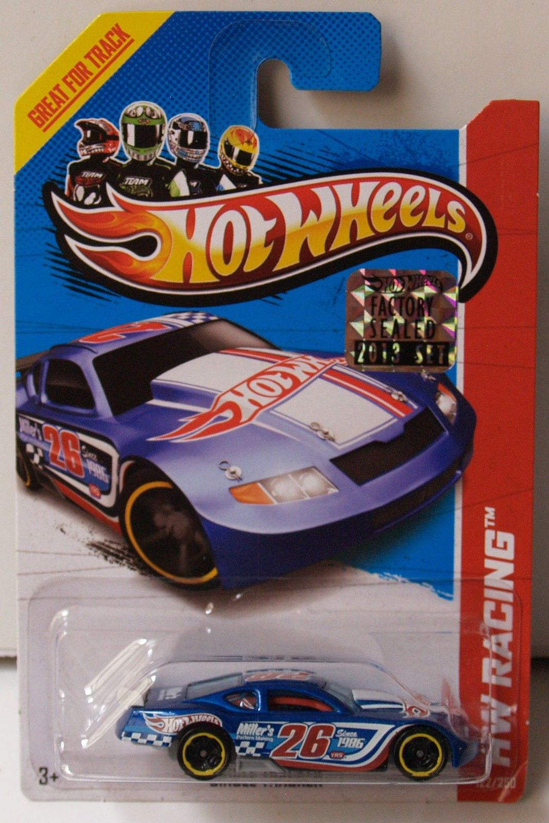 HOT WHEELS 2013 HW RACING TRACK ACES CIRCLE TRACKER FACTORY SEALED