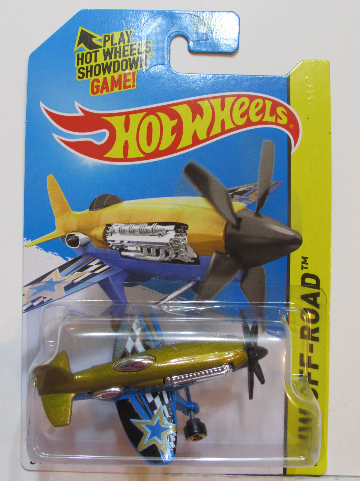 HOT WHEELS 2015 HW OFF-ROAD SKY SHOW MAD PROPZ GOLD