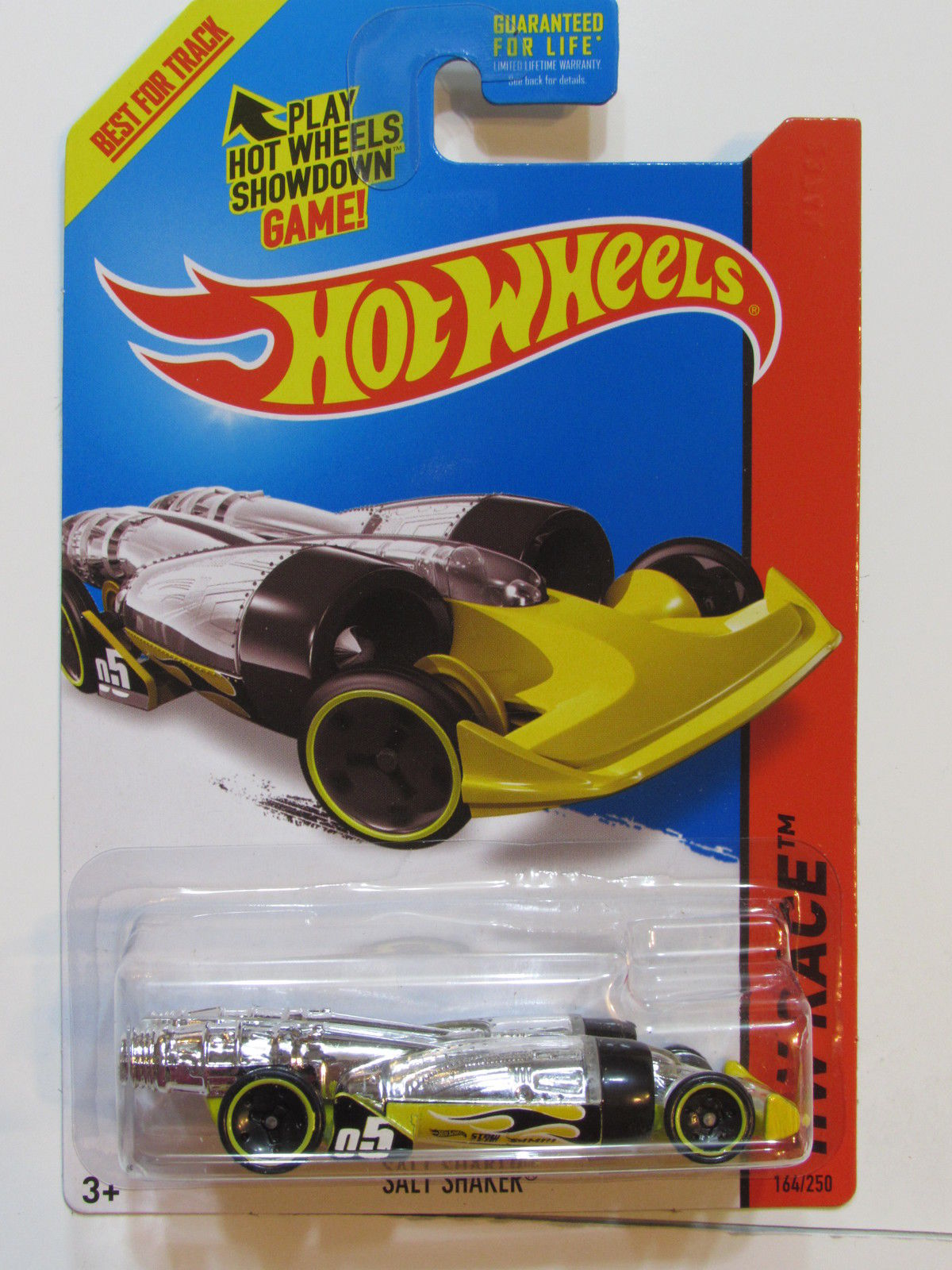 HOT WHEELS 2015 HW RACE - SUPER CHROMES SALT SHAKER