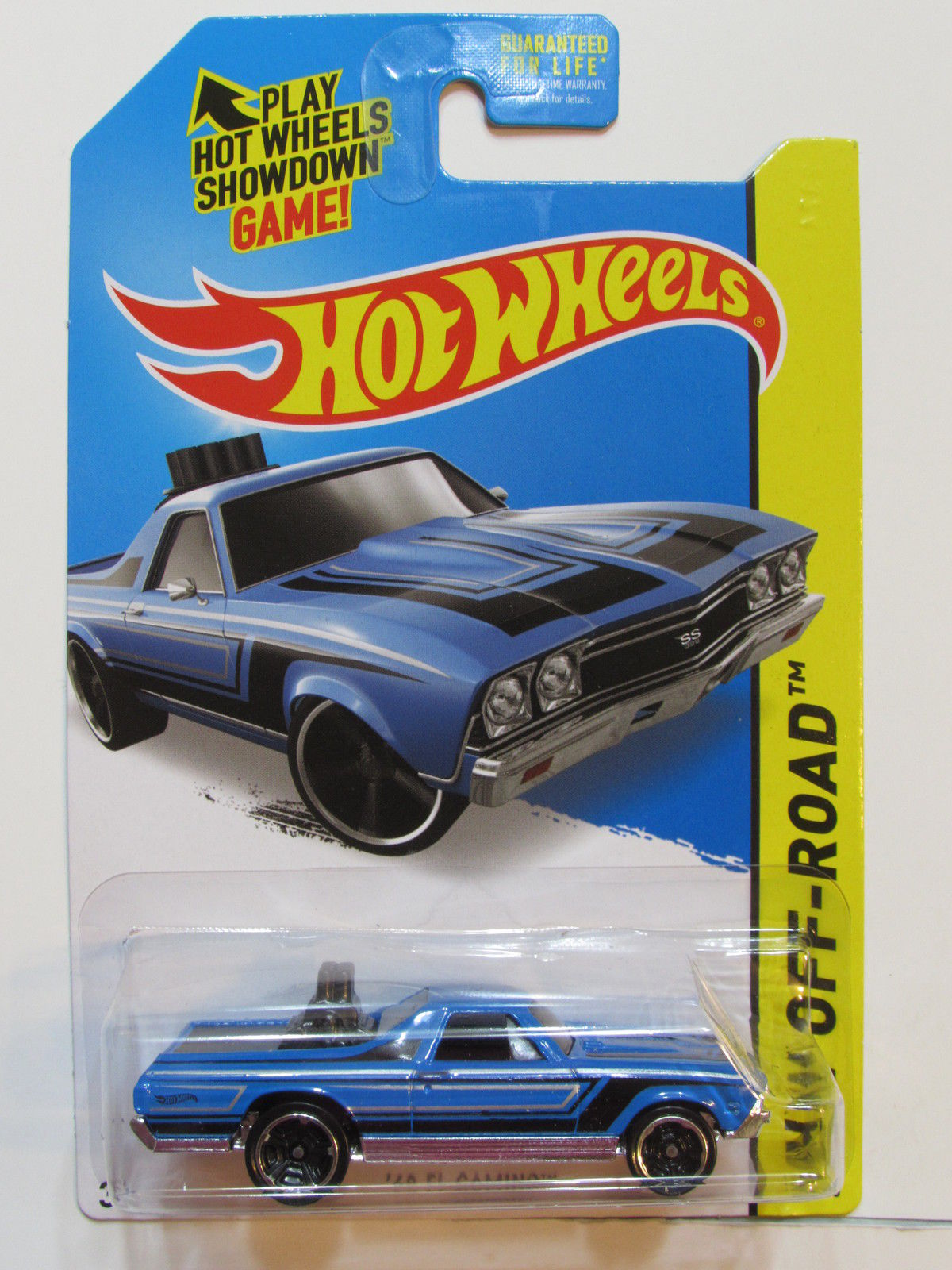 HOT WHEELS 2015 HW OFF-ROAD HW HOT TRUCKS '68 EL CAMINO