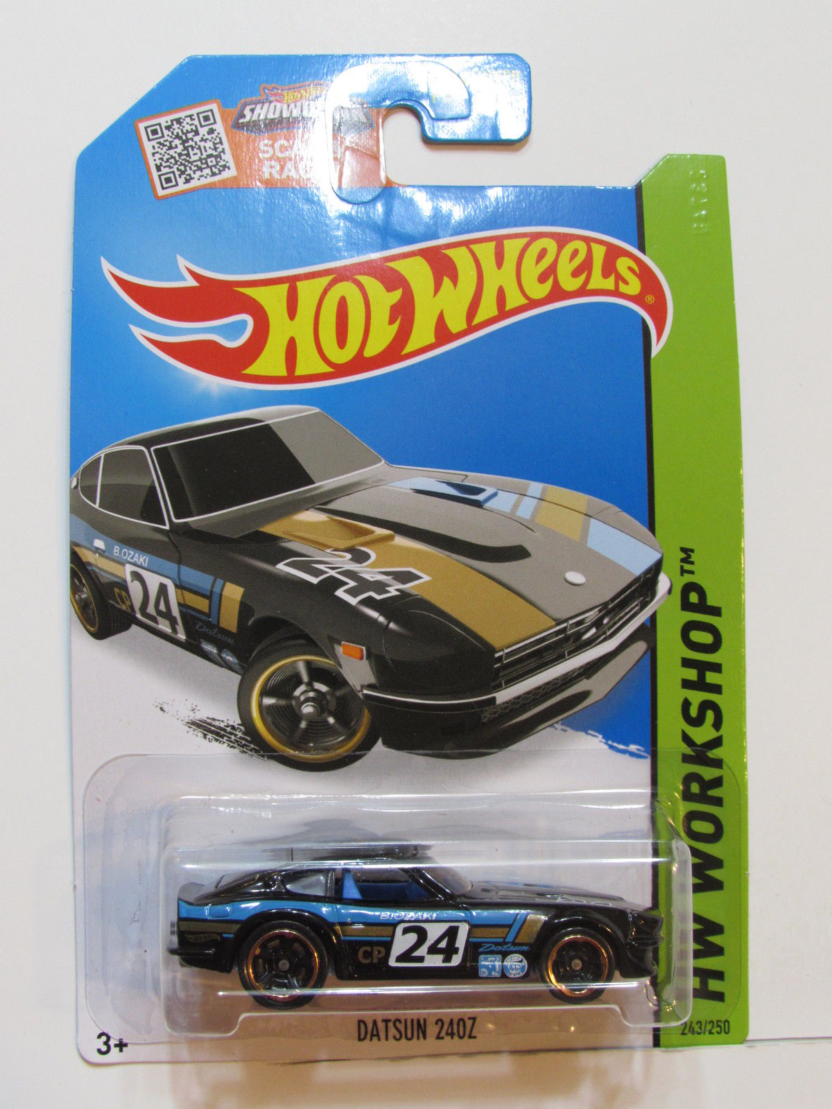 HOT WHEELS 2015 HW WORKSHOP - THEN & NOW DATSUN 240Z BLACK