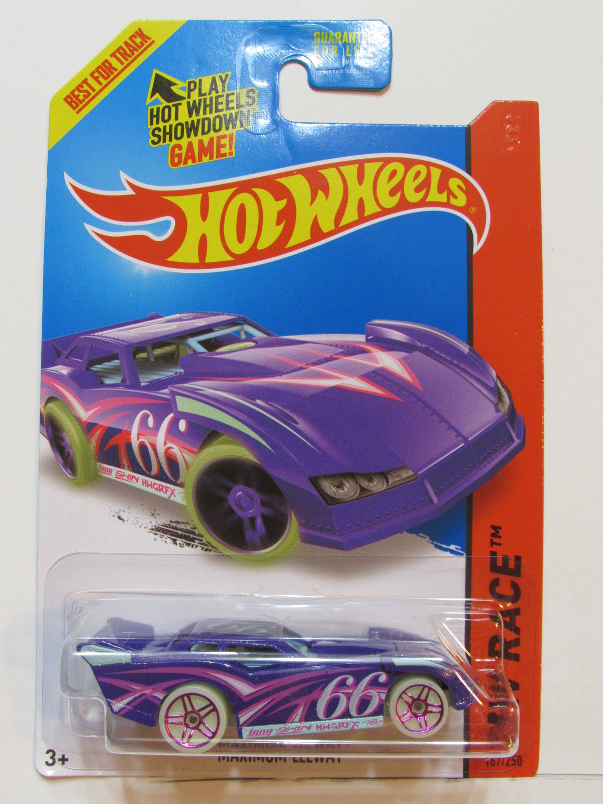 HOT WHEELS 2015 HW RACE - NIGHT STORM MAXIMUM LEEWAY