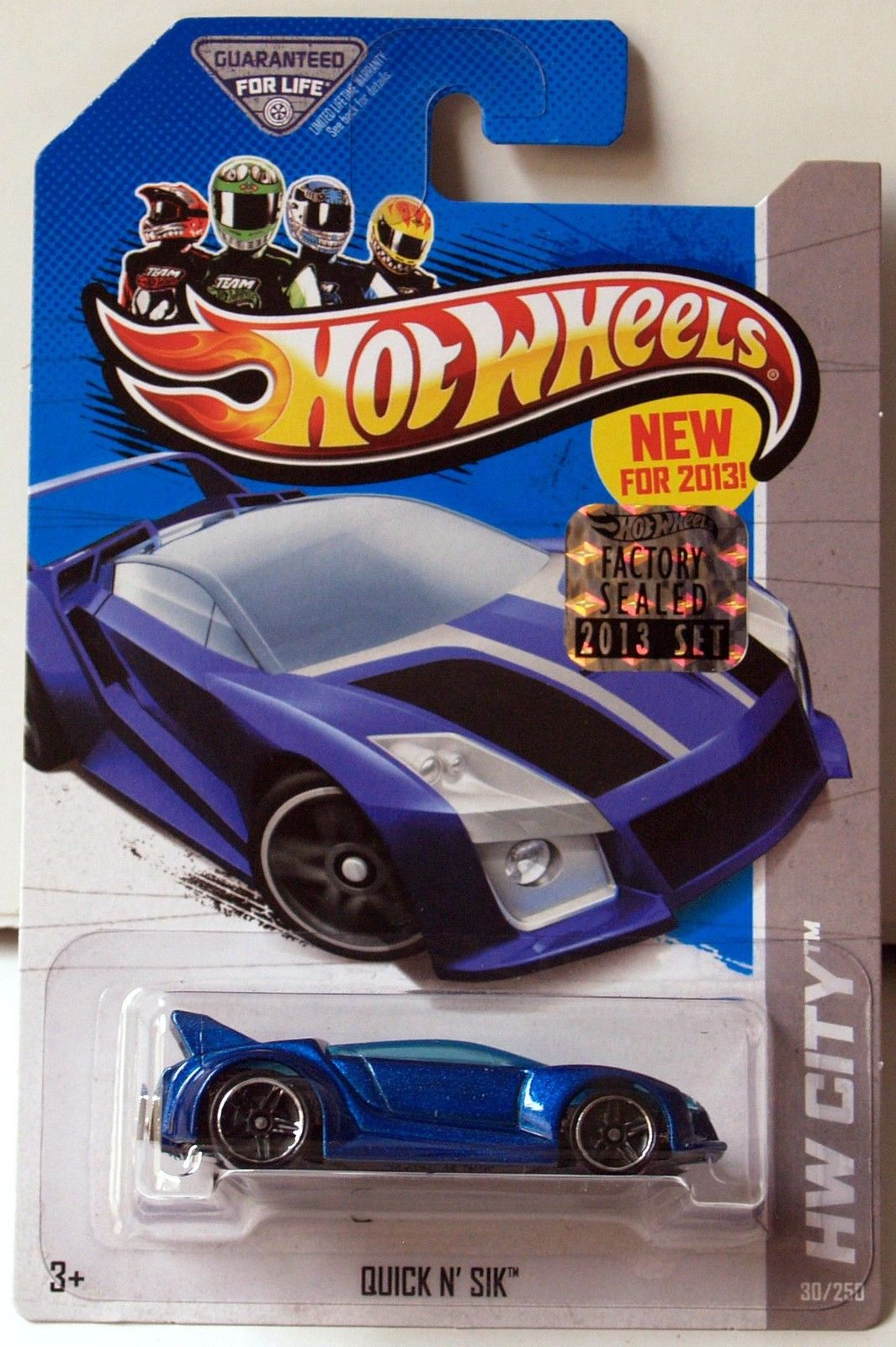 HOT WHEELS 2013 HW CITY QUICK N SIK FACTORY SEALED