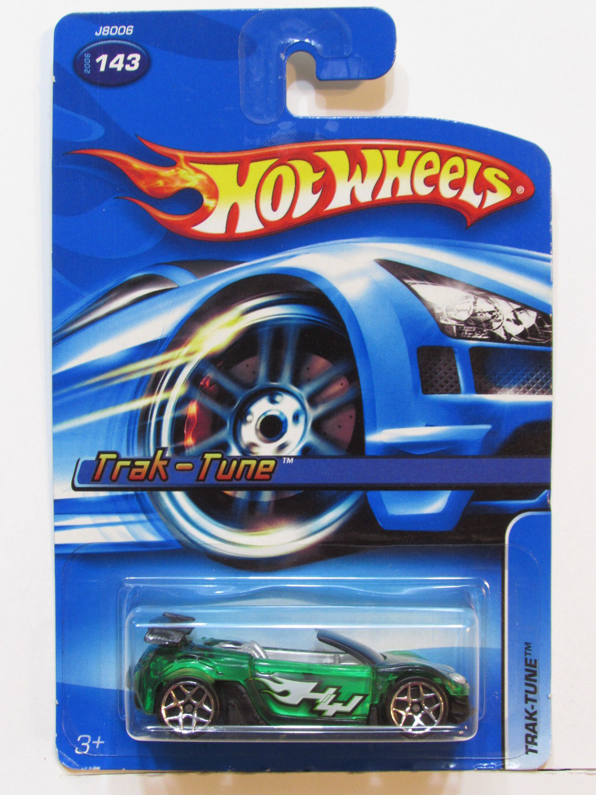 HOT WHEELS 2006 TRAK-TUNE #143 GREEN