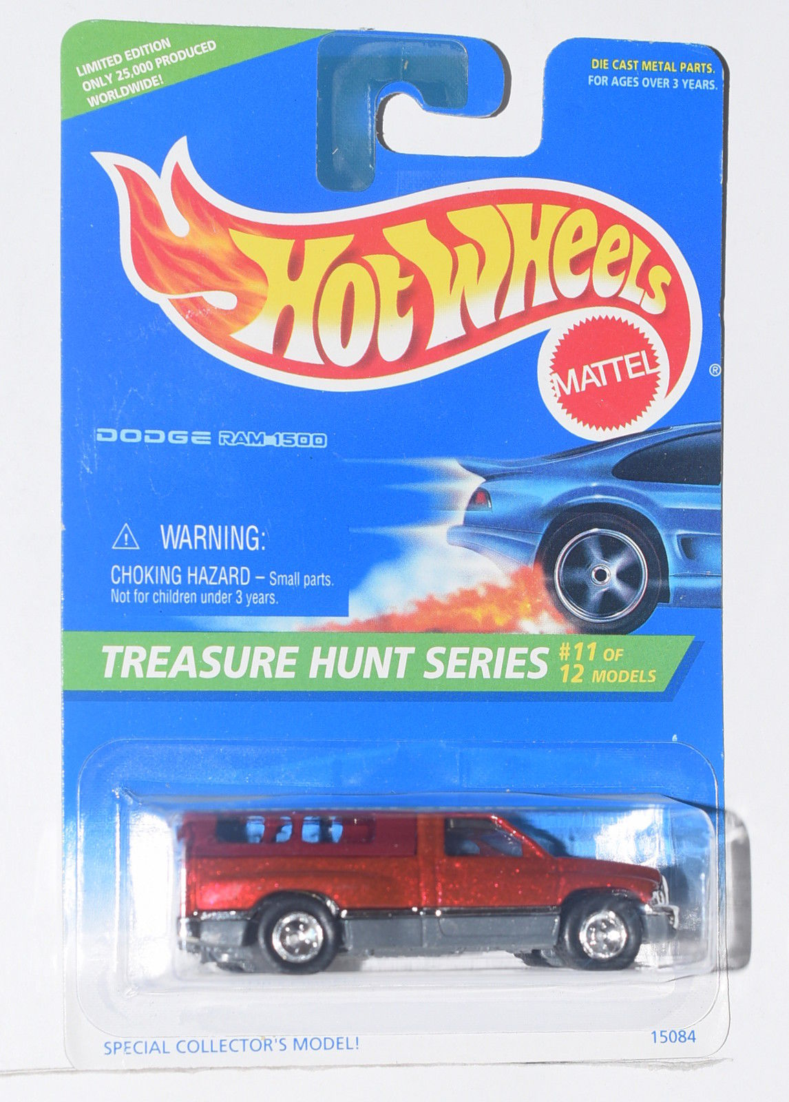 HOT WHEELS 1996 TREASURE HUNT DODGE RAM 1500