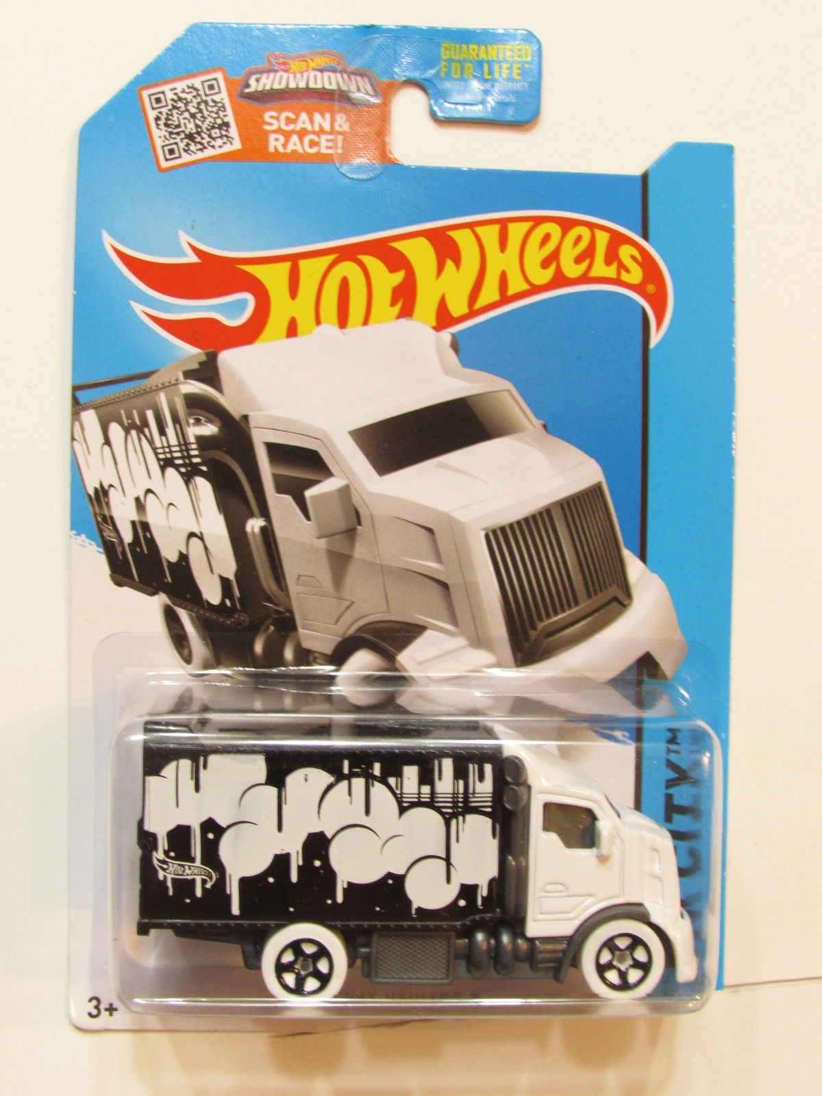 HOT WHEELS 2015 HW CITY - HW ART CARS HIWAY HAULER 2