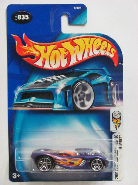 HOT WHEELS 2004 FIRST EDITIONS 16 ANGELS #035 PURPLE