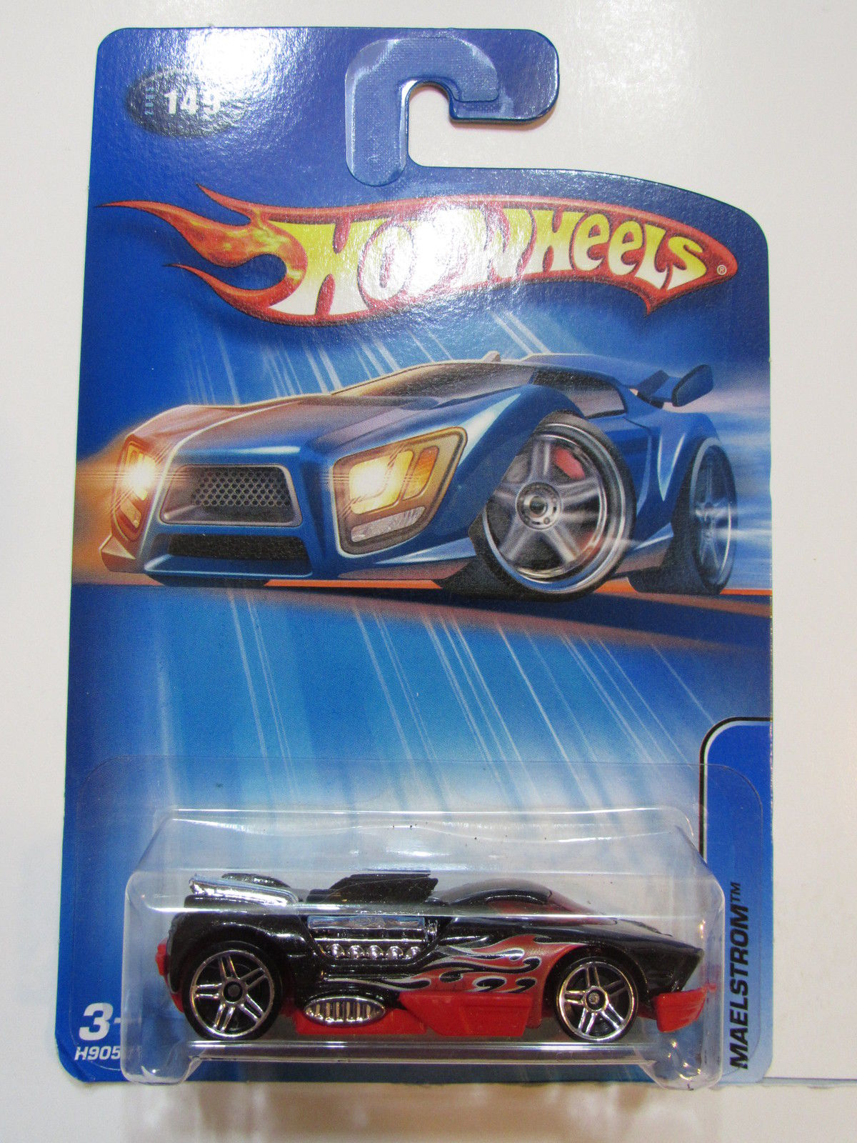 HOT WHEELS 2005 MAELSTROM #149 PR5 WHEELS