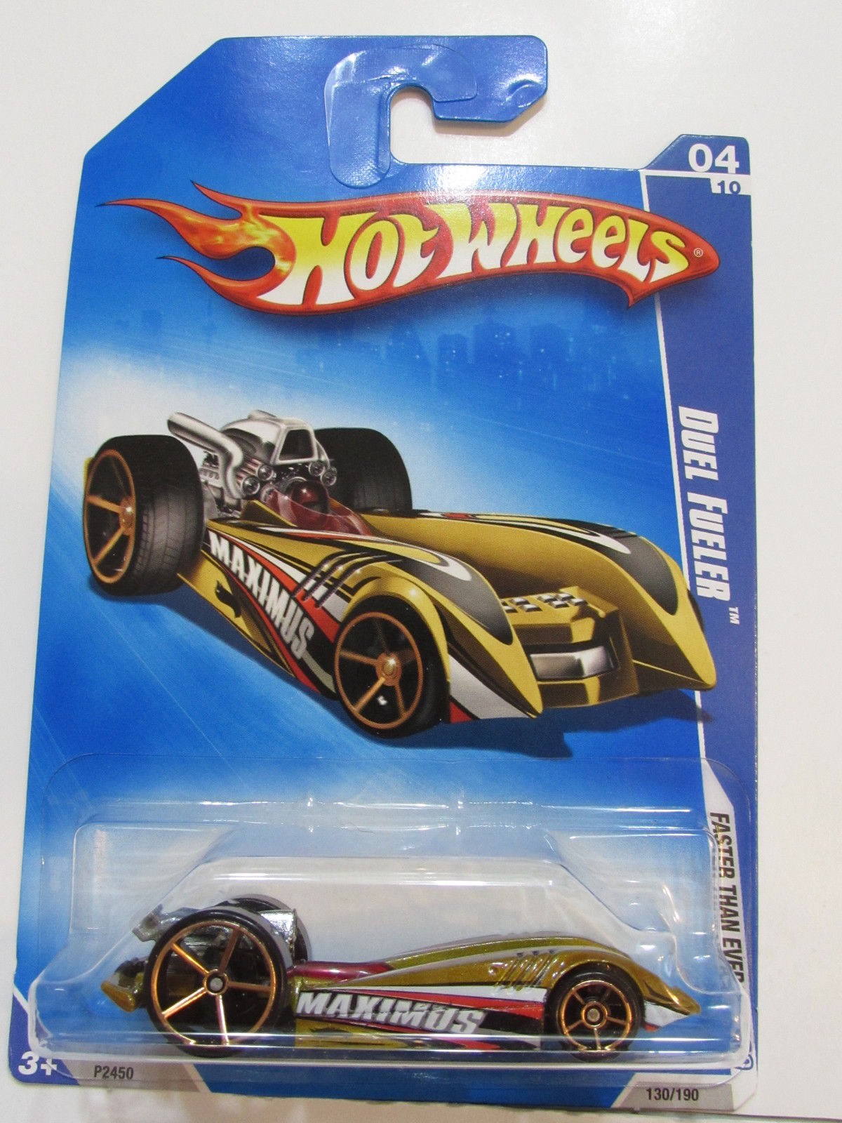 HOT WHEELS 2009 FTE DUEL FUELER GOLD