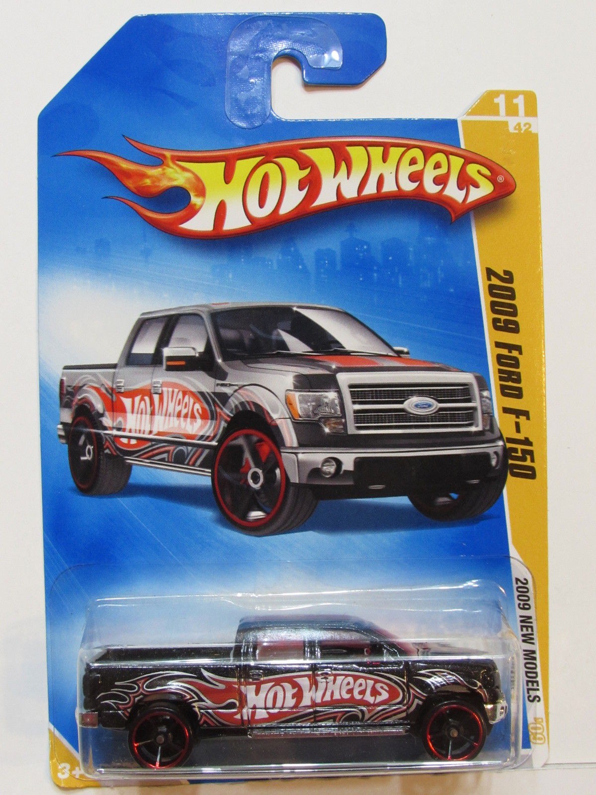 HOT WHEELS 2009 NEW MODELS 2009 FORD F-150 BLACK