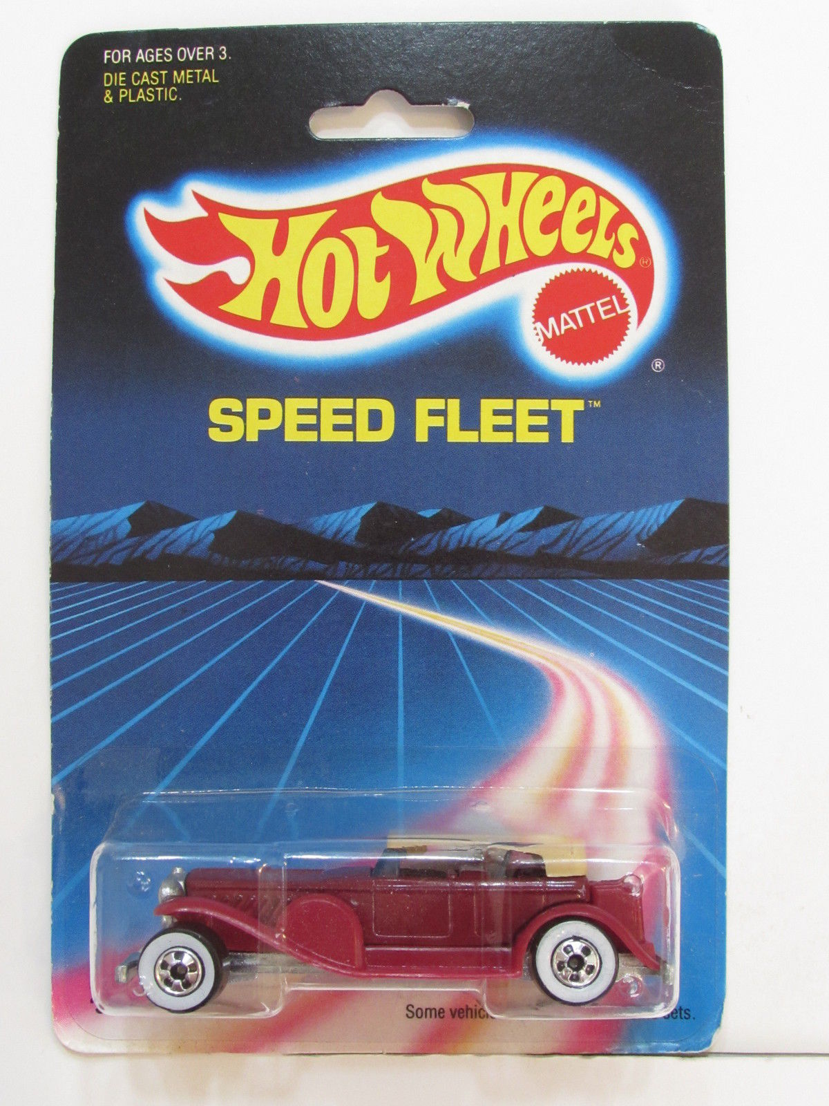 HOT WHEELS 1986 SPEED FLEET '31 DOOZIE RED