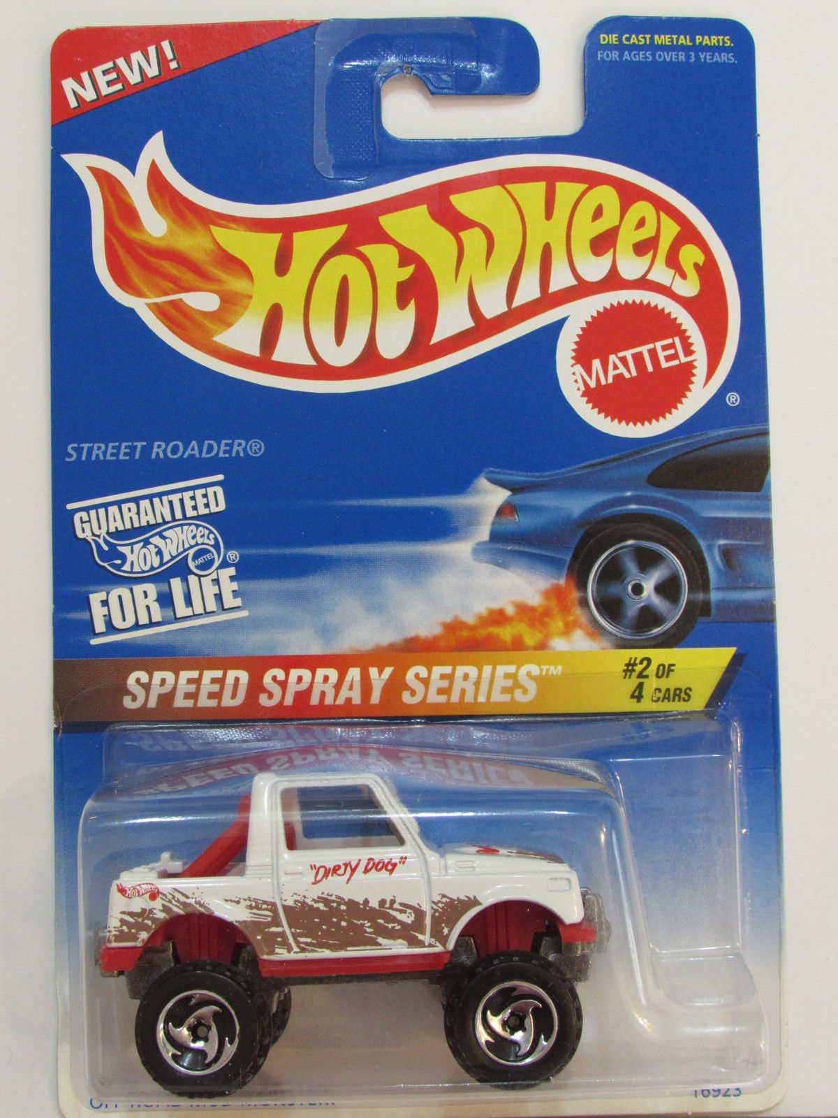 HOT WHEELS 1996 SPEED SPRAY SERIES STREET ROADER #2/4