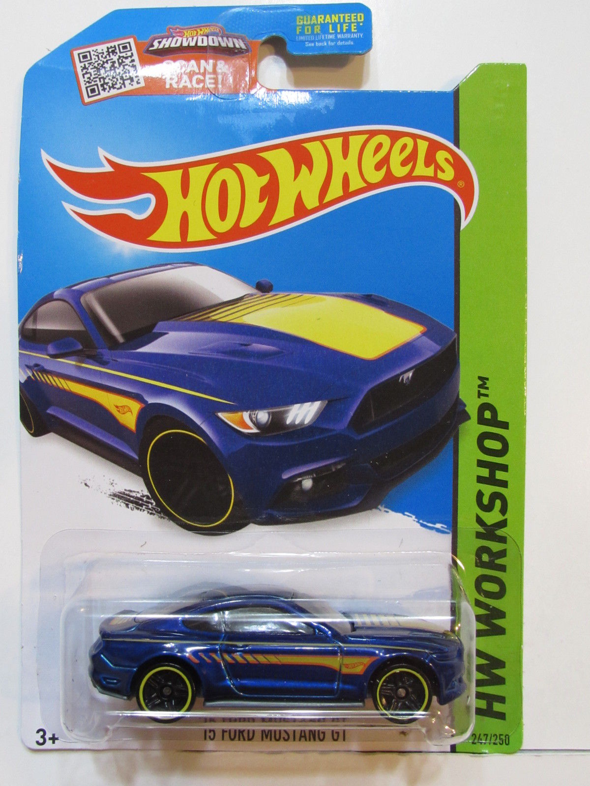 HOT WHEELS 2015 HW WORKSHOP - THEN & NOW '15 FORD MUSTANG GT
