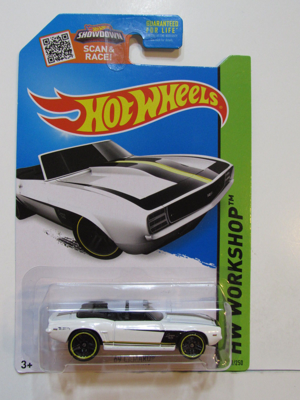 HOT WHEELS 2015 HW WORKSHOP - THEN & NOW '69 CAMARO