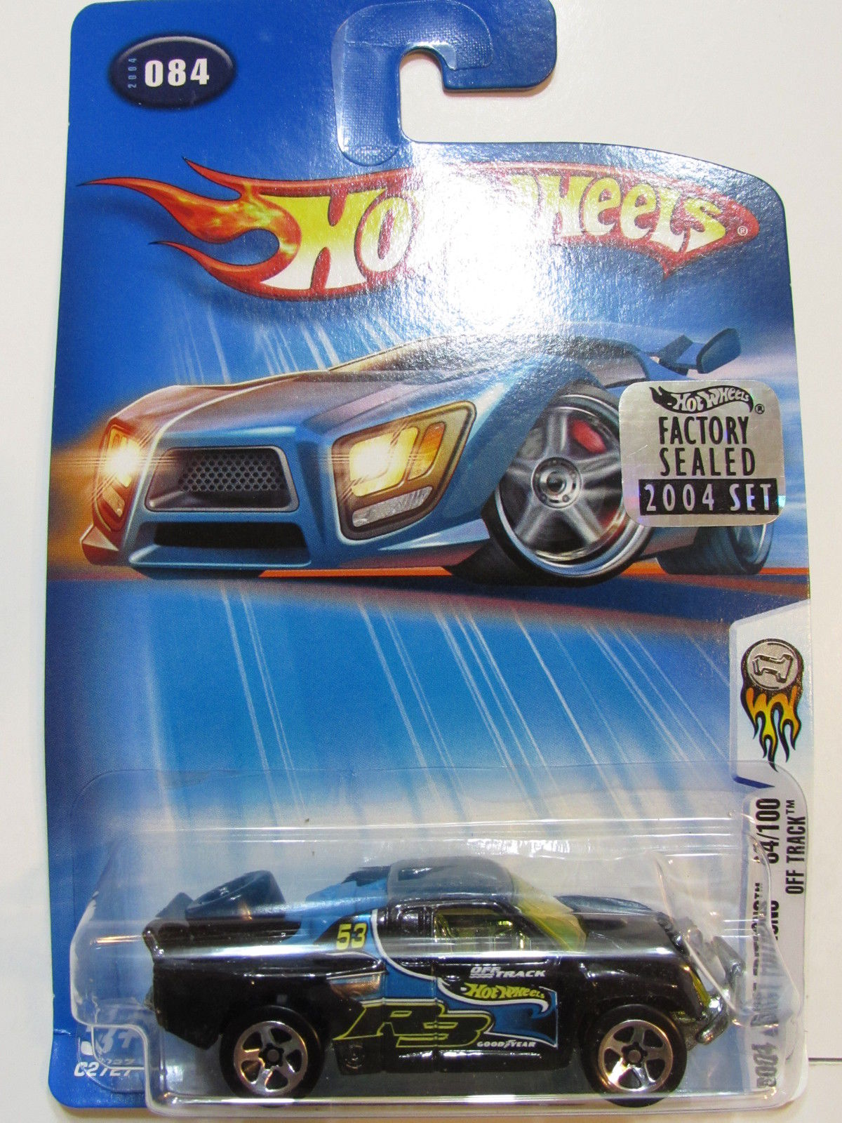 HOT WHEELS 2004 FIRST EDITIONS OFF TRACK #084 FACTORY SEALED