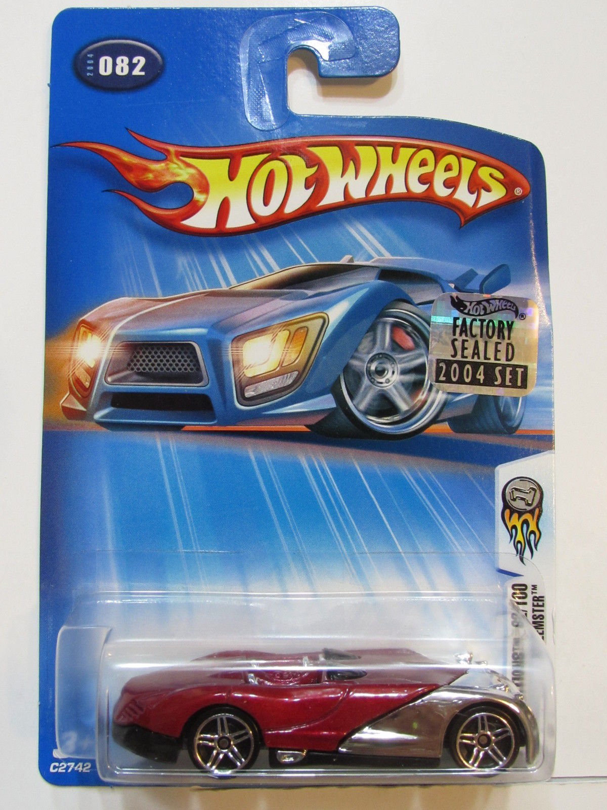 HOT WHEELS 2004 FIRST EDITIONS XTREEMSTER #082 FACTORY SEALED