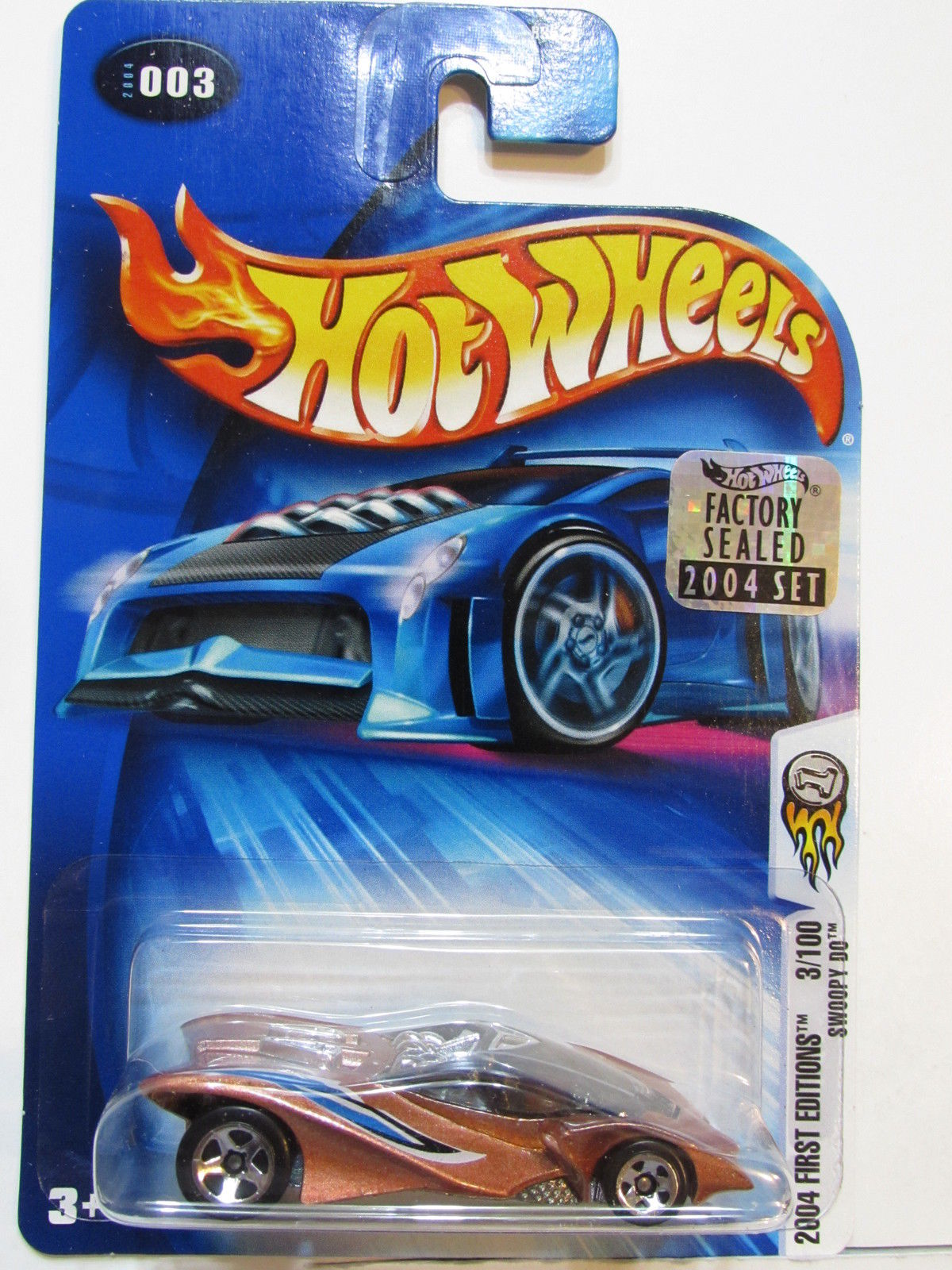 HOT WHEELS 2004 FIRST EDITIONS SWOOPY DO #003 FACTORY SEALED