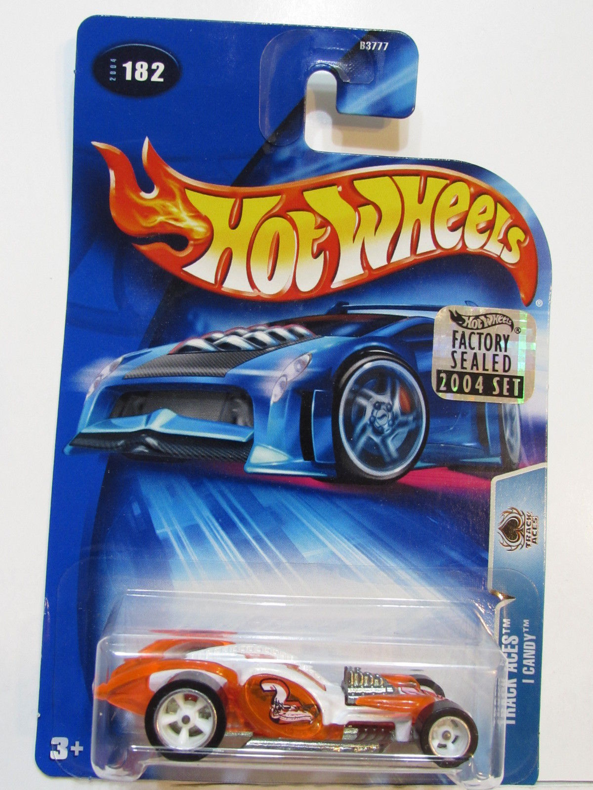 HOT WHEELS 2004 TRACK ACES I CANDY #182 FACTORY SEALED