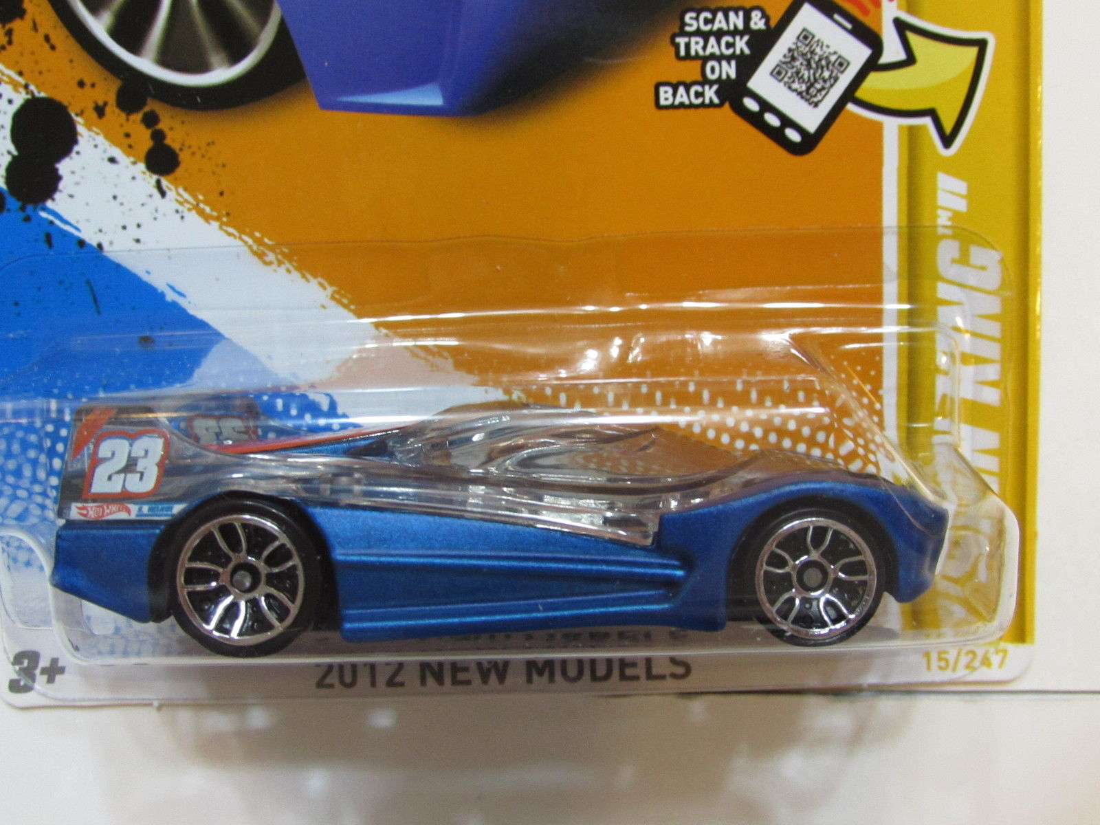 HOT WHEELS 2012 NEW MODELS - SPIN KING FACTORY SEALED