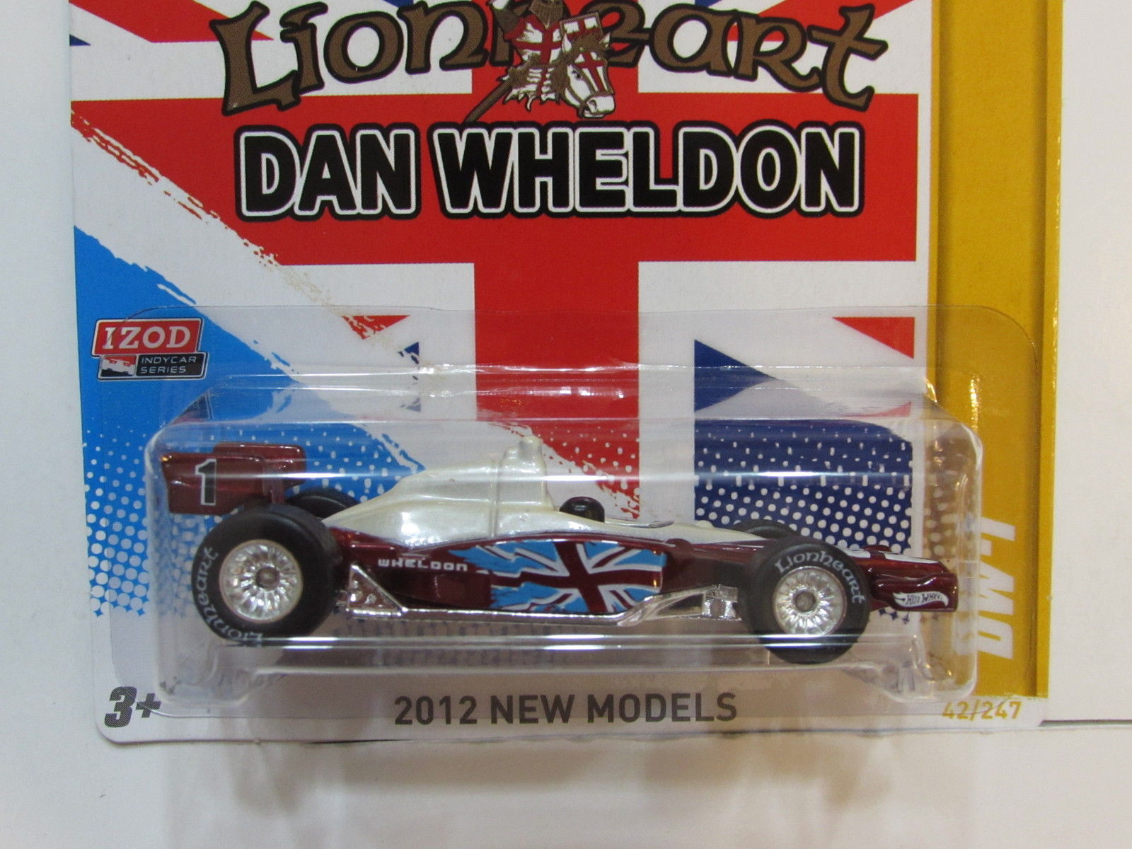 HOT WHEELS 2012 NEW MODELS DAN WHELDON DW-1