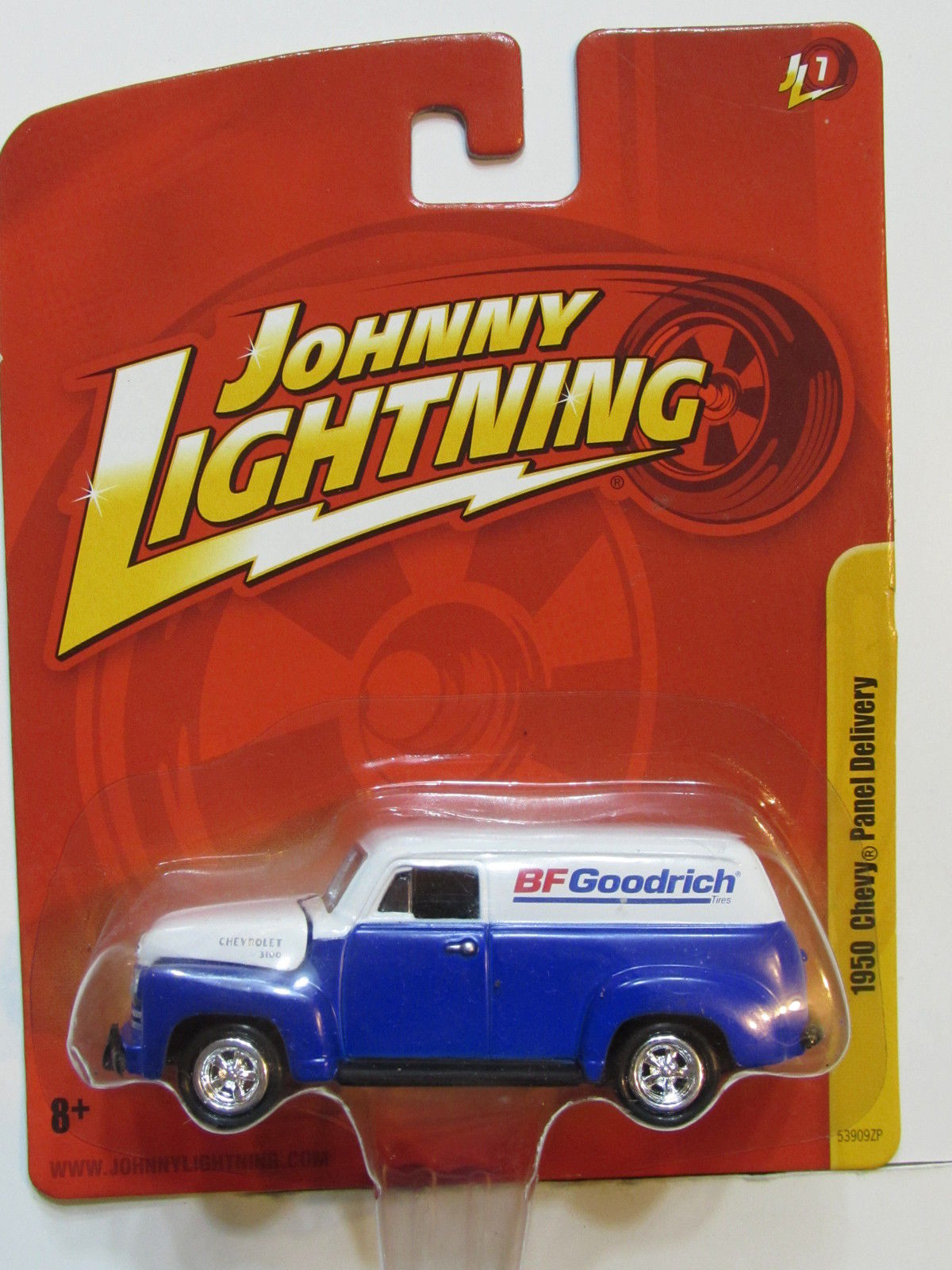 JOHNNY LIGHTNING 1950 CHEVY PANEL DELIVERY JL 7 E+