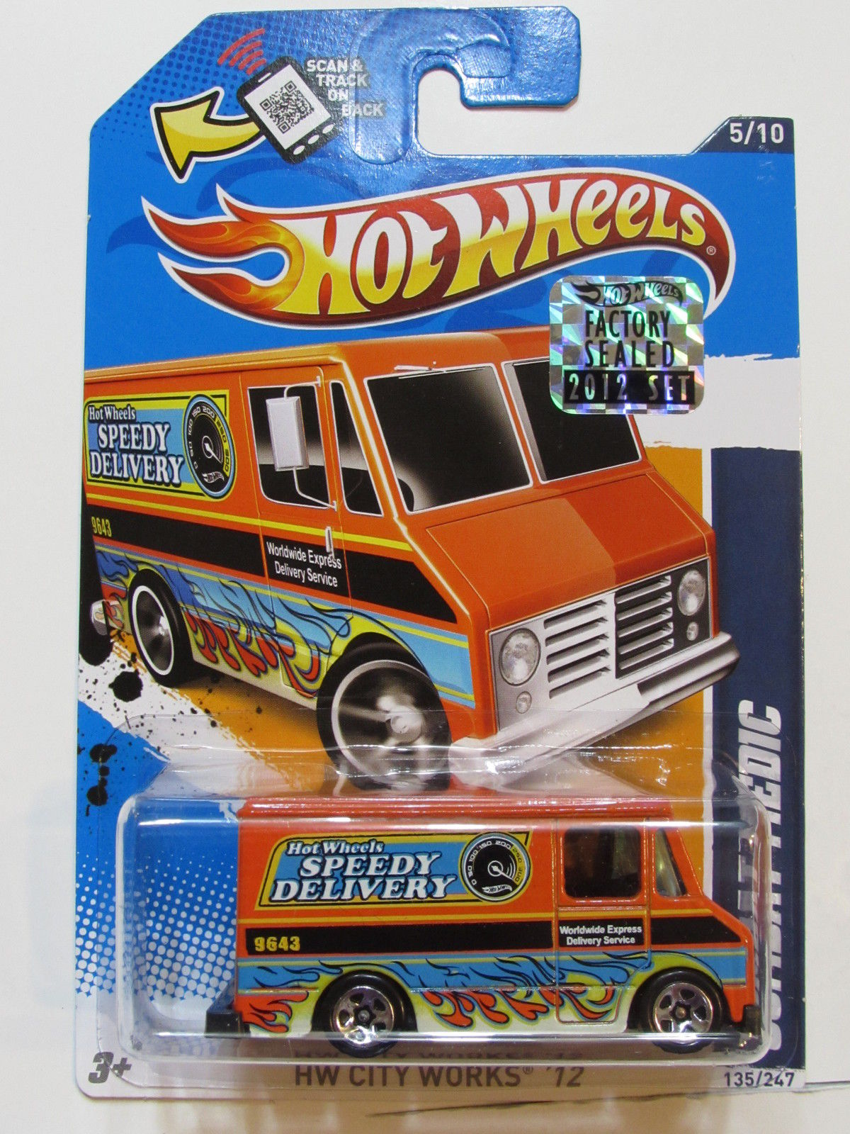 HOT WHEELS 2012 CITY WORKS COMBAT MEDIC FACTORY SEALED