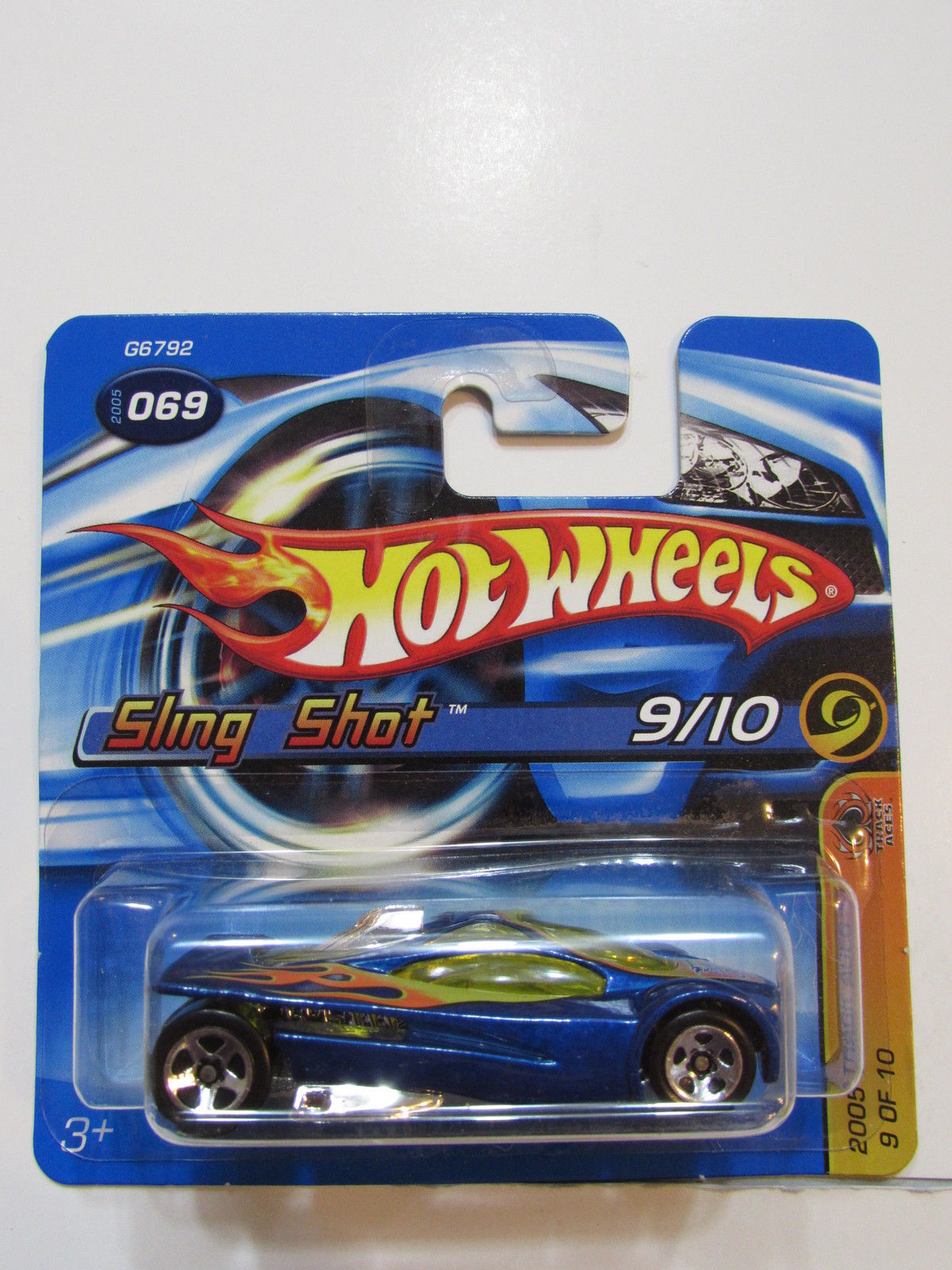 HOT WHEELS 2005 TRACK ACES SLING SHOT #69 SHORTCARD