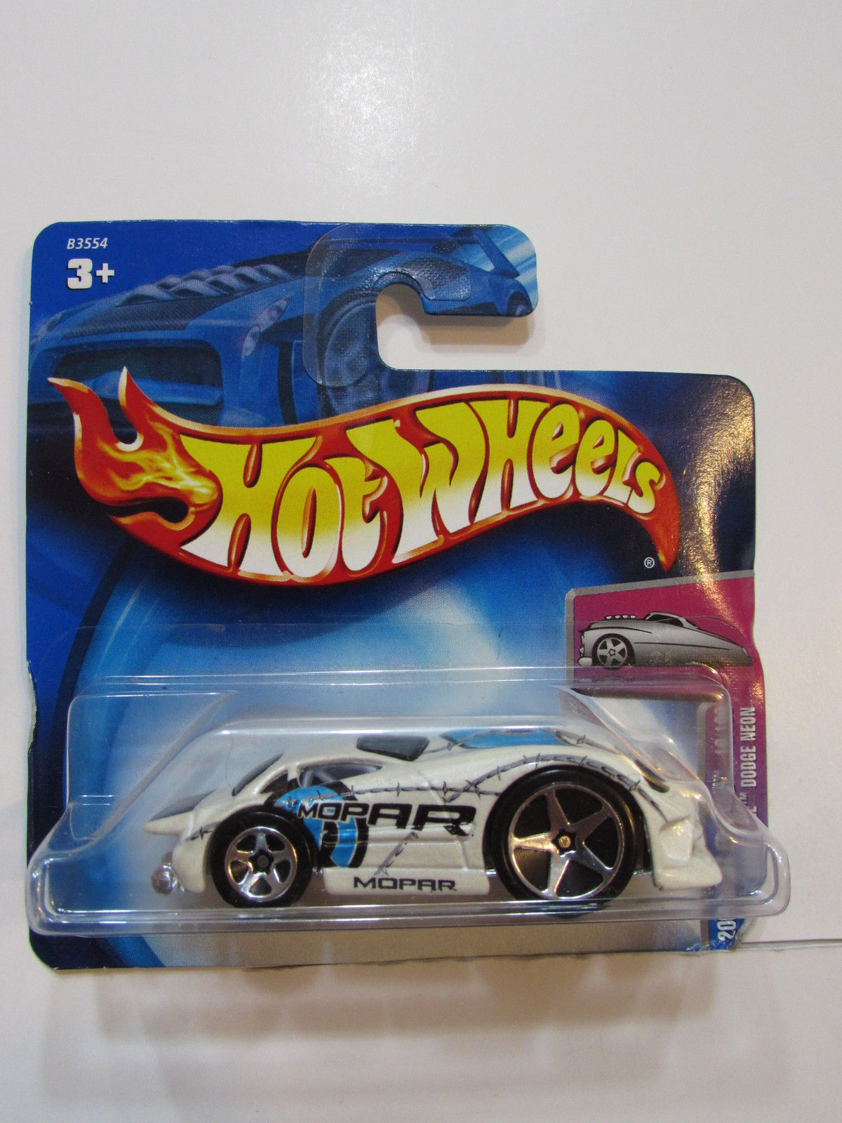 HOT WHEELS 2004 FIRST EDITIONS HARDNOSE DODGE NEON #018 SHORT CARD