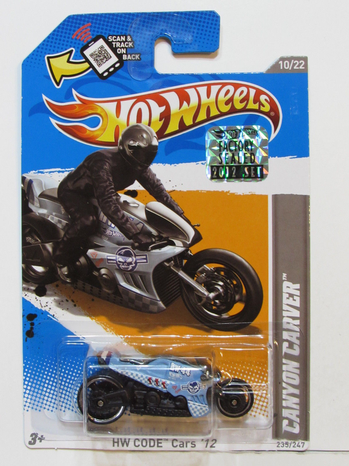 HOT WHEELS 2012 HW CODE CARS CANYON CARVER FACTORY SEALED