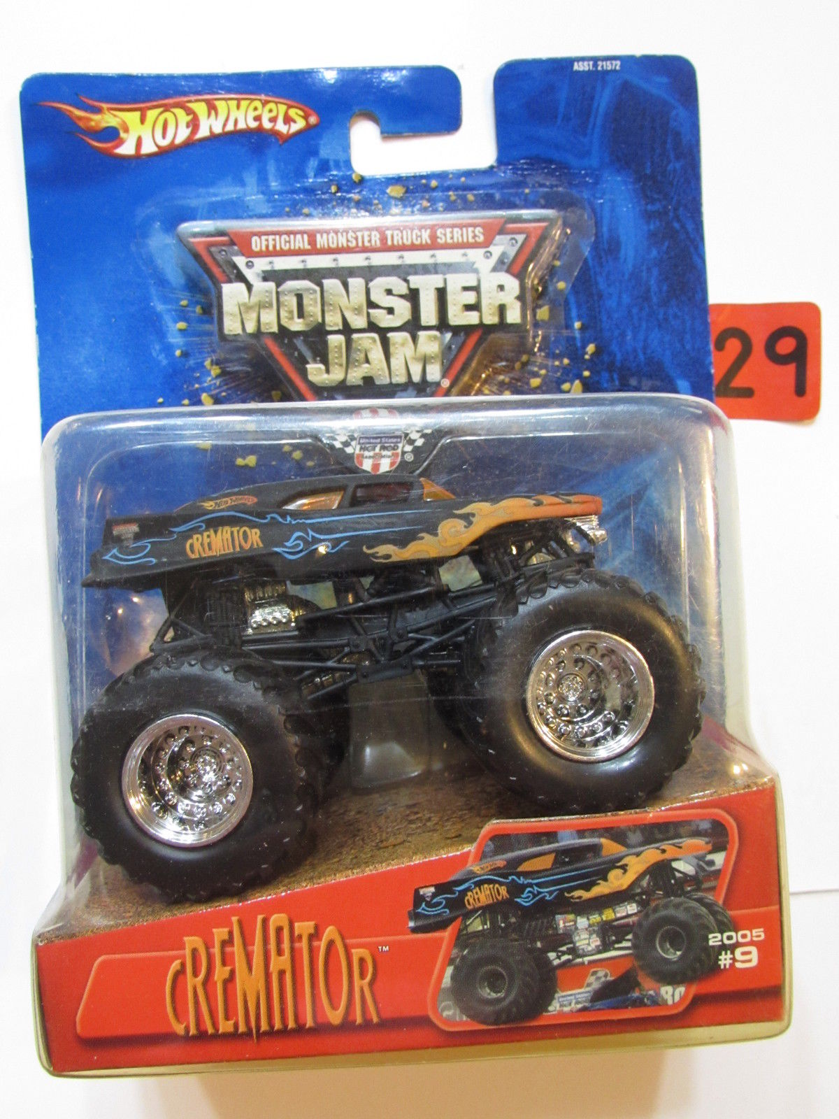 HOT WHEELS MONSTER JAM 2005 #09 CREMATOR