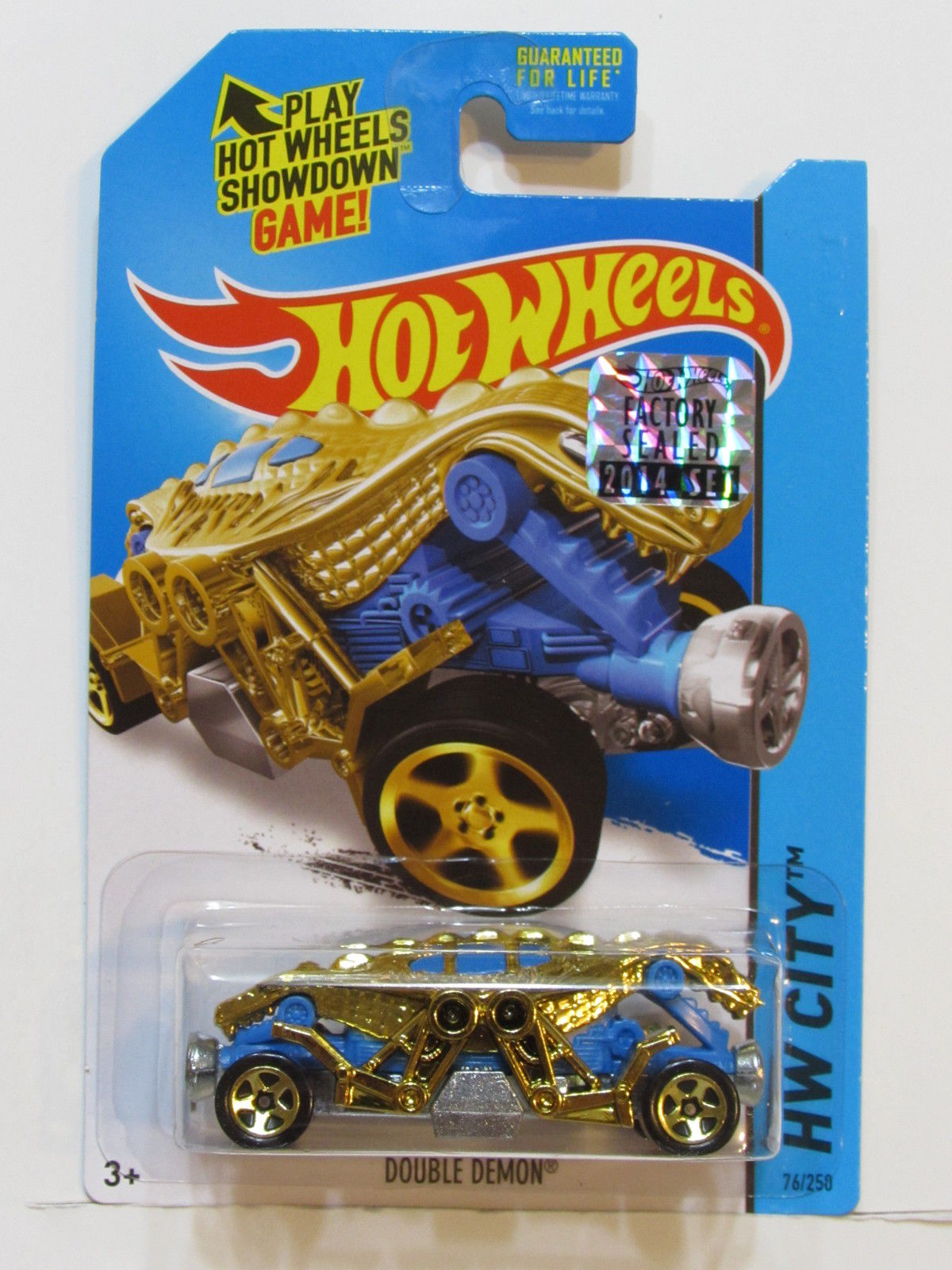 HOT WHEELS 2014 HW CITY DOUBLE DEMON FACTORY SEALED