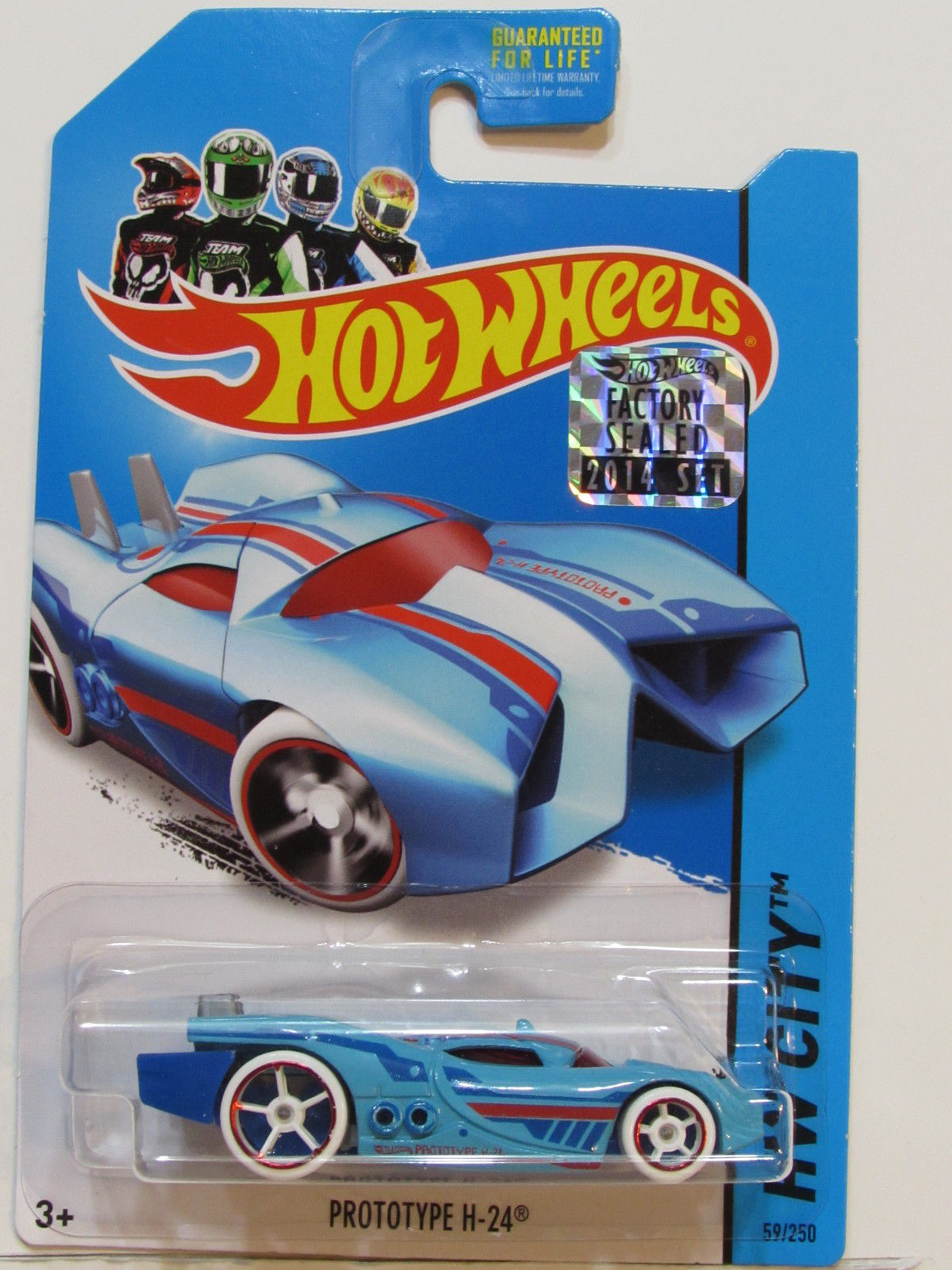 HOT WHEELS 2014 HW CITY PROTOTYPE H-24 FACTORY SEALED BLUE