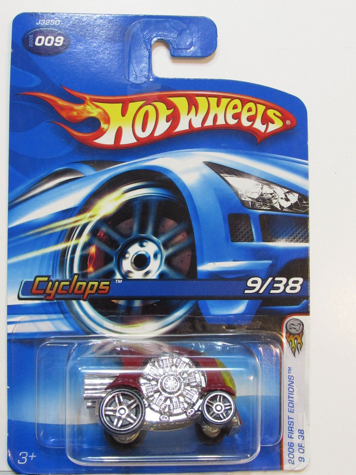 HOT WHEELS 2006 FIRST EDITIONS CYCLOPS #9/38