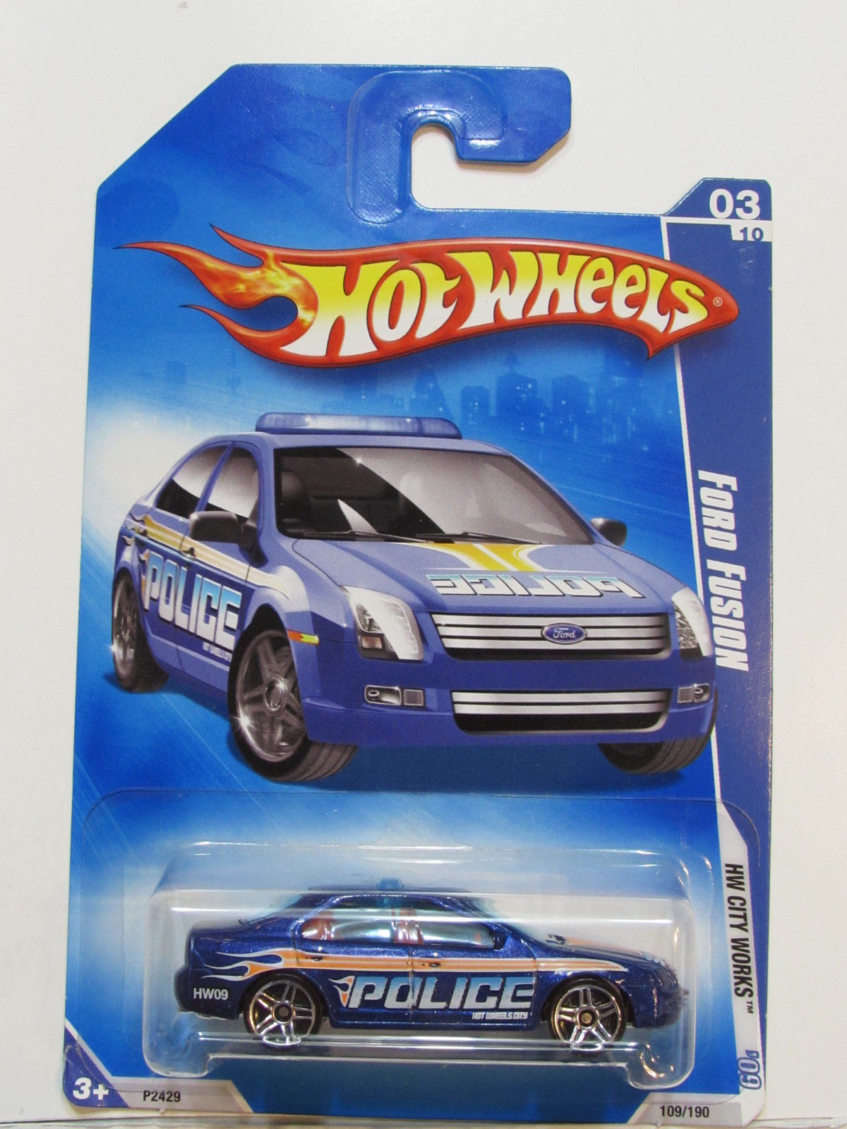 HOT WHEELS 2009 HW CITY WORKS FORD FUSION