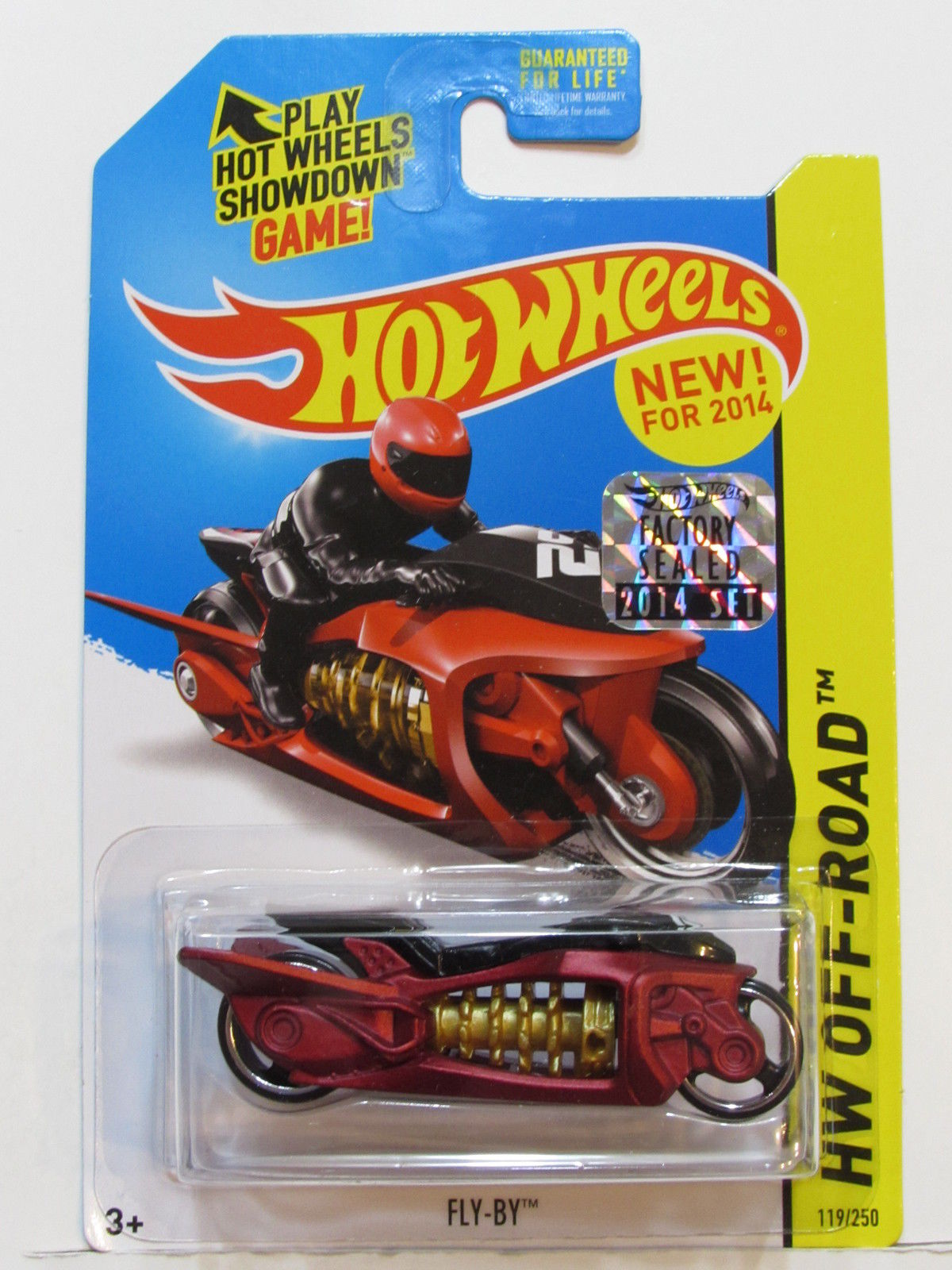 HOT WHEELS 2014 HW OFF ROAD FLY - BY FACTORY SEALED