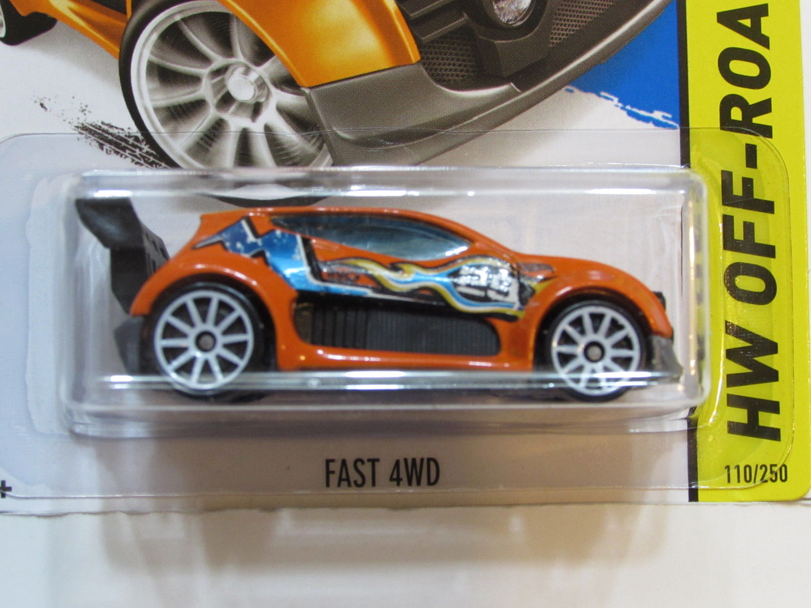 HOT WHEELS 2014 HW OFF ROAD FAST 4WD FACTORY SEALED