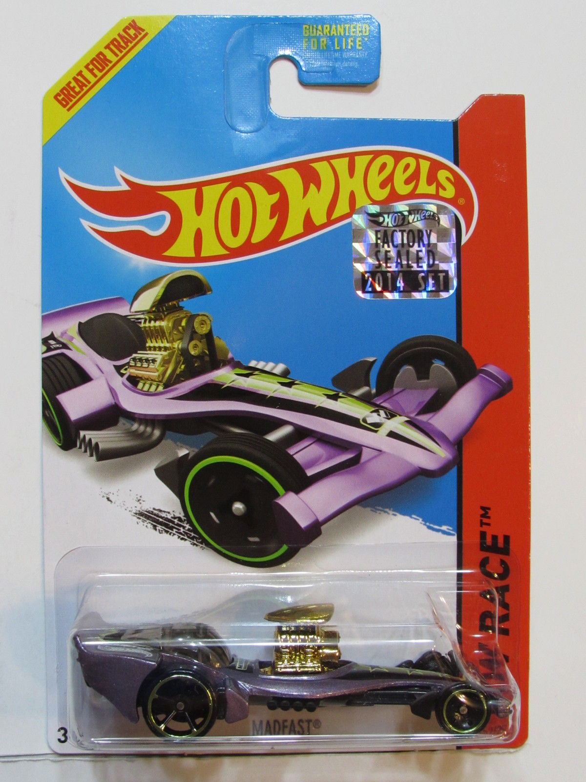 HOT WHEELS 2014 HW RACE MADFAST FACTORY SEALED